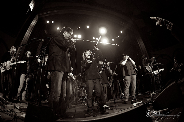 Play it Forward 3 @ The Neptune Theatre 1/20/13: Finale (Photo by Mocha Charlie)