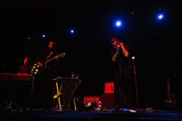 King Dude & Chelsea Wolfe Live @ The Triple Door (Photo by Mat Hayward)