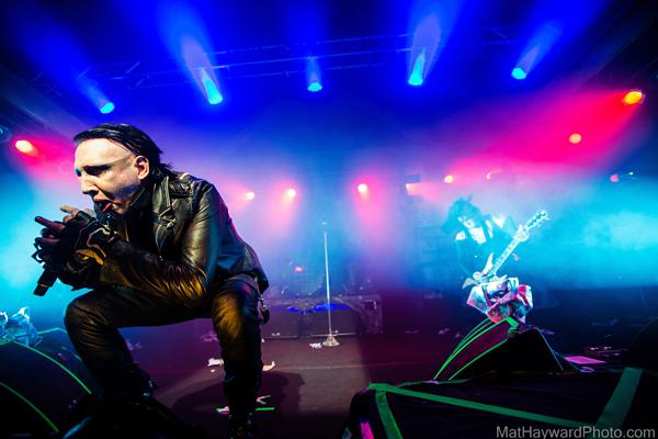 Marilyn Manson Live @ Shobox Sodo – 2/12 (Photo: MatHaywardPhoto.com)