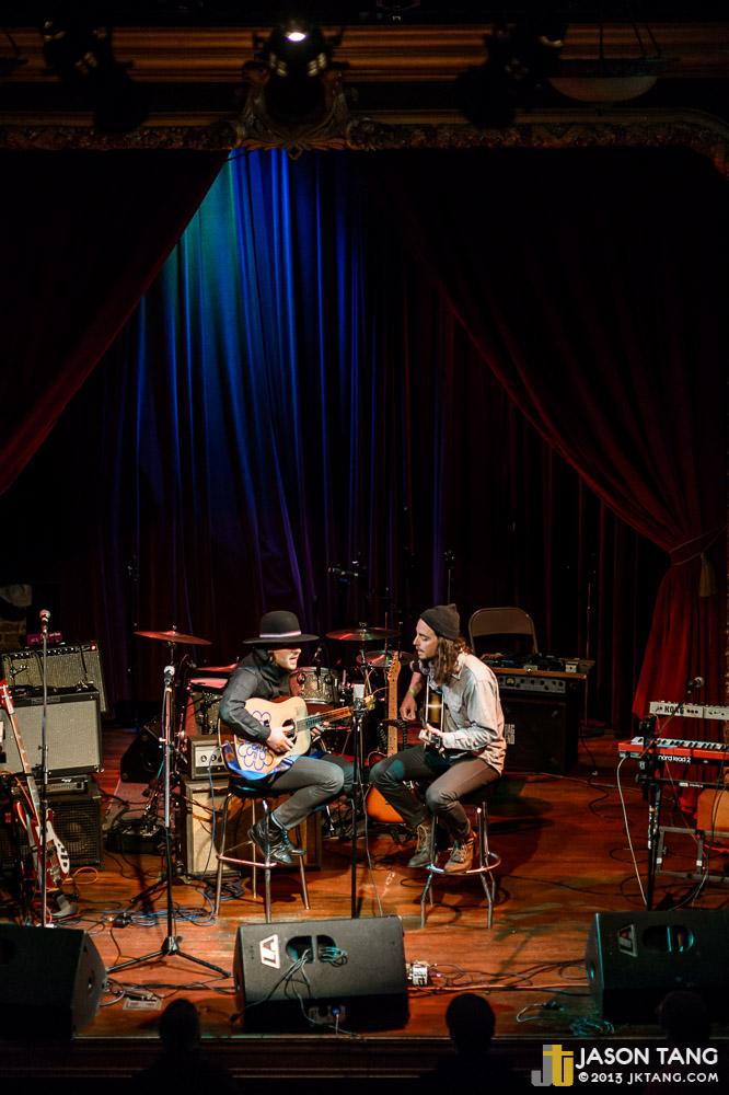 2013.04.12: Daniel Blue, Micah Simler @ Columbia City Theater (Photo by Jason Tang)