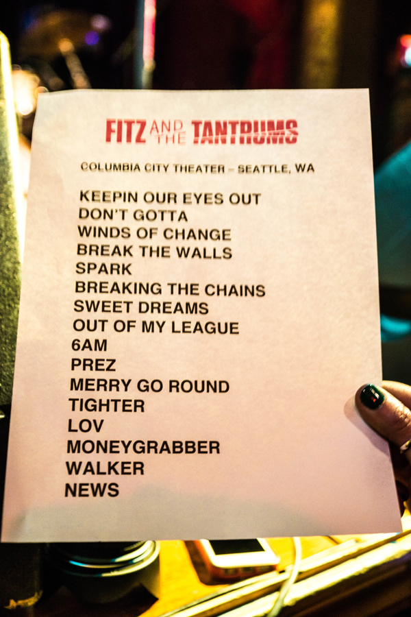 Fitz and The Tantrums Live @ Columbia City Theater – 4/8/13 (Photo by Greg Roth)