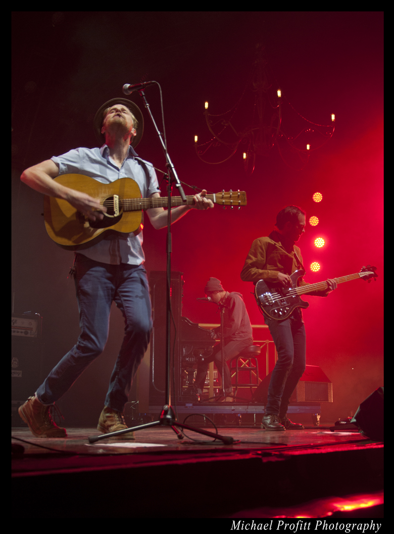 The Lumineers Live @ Marymoor Park (photo by Michael Proffit)