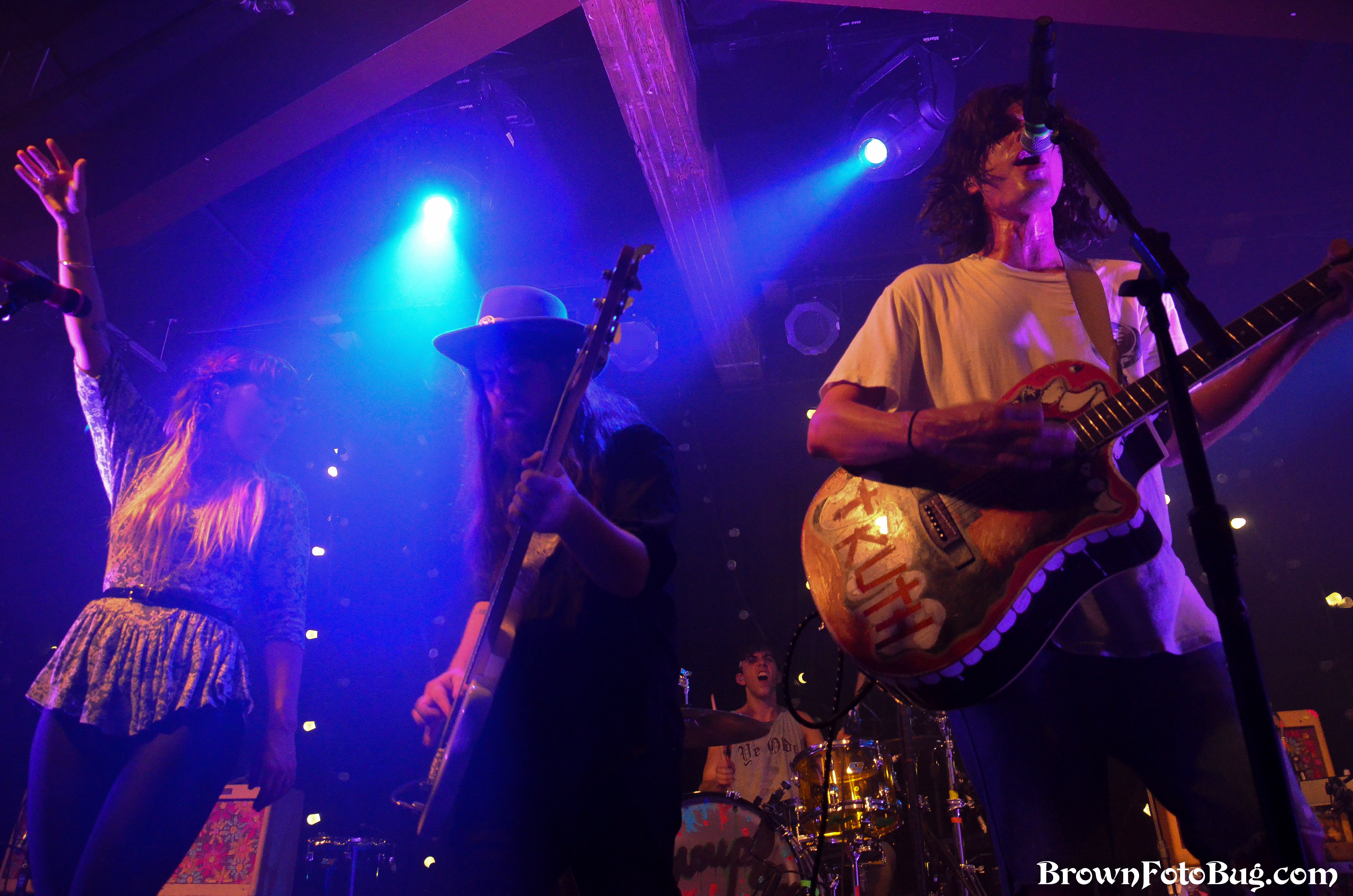 Grouplove Live @ The Crocodile 9/9/13 (Photo by Arlene Brown)