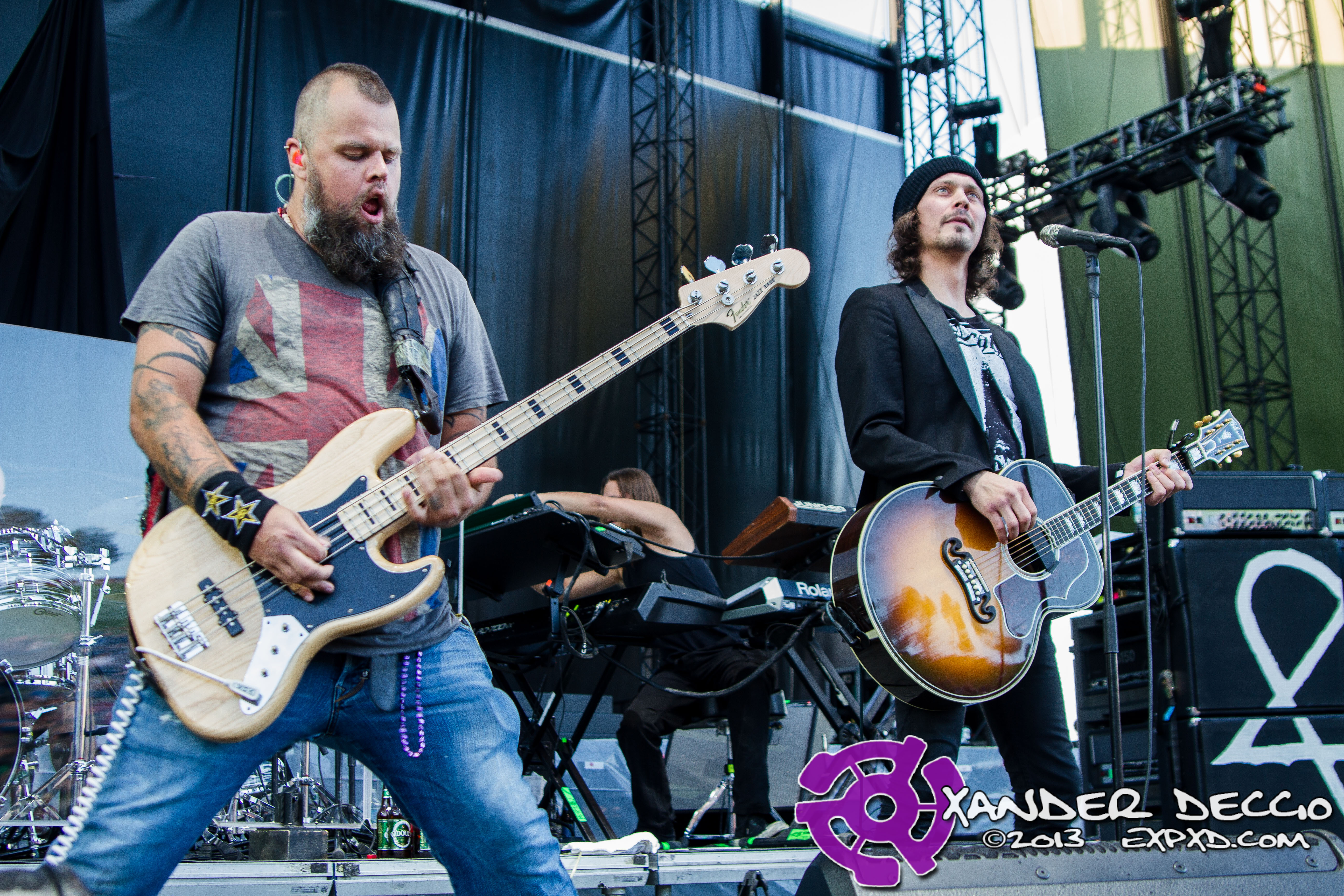 KISW Pain in the Grass 2013: HIM (Photo by Xander Deccio)