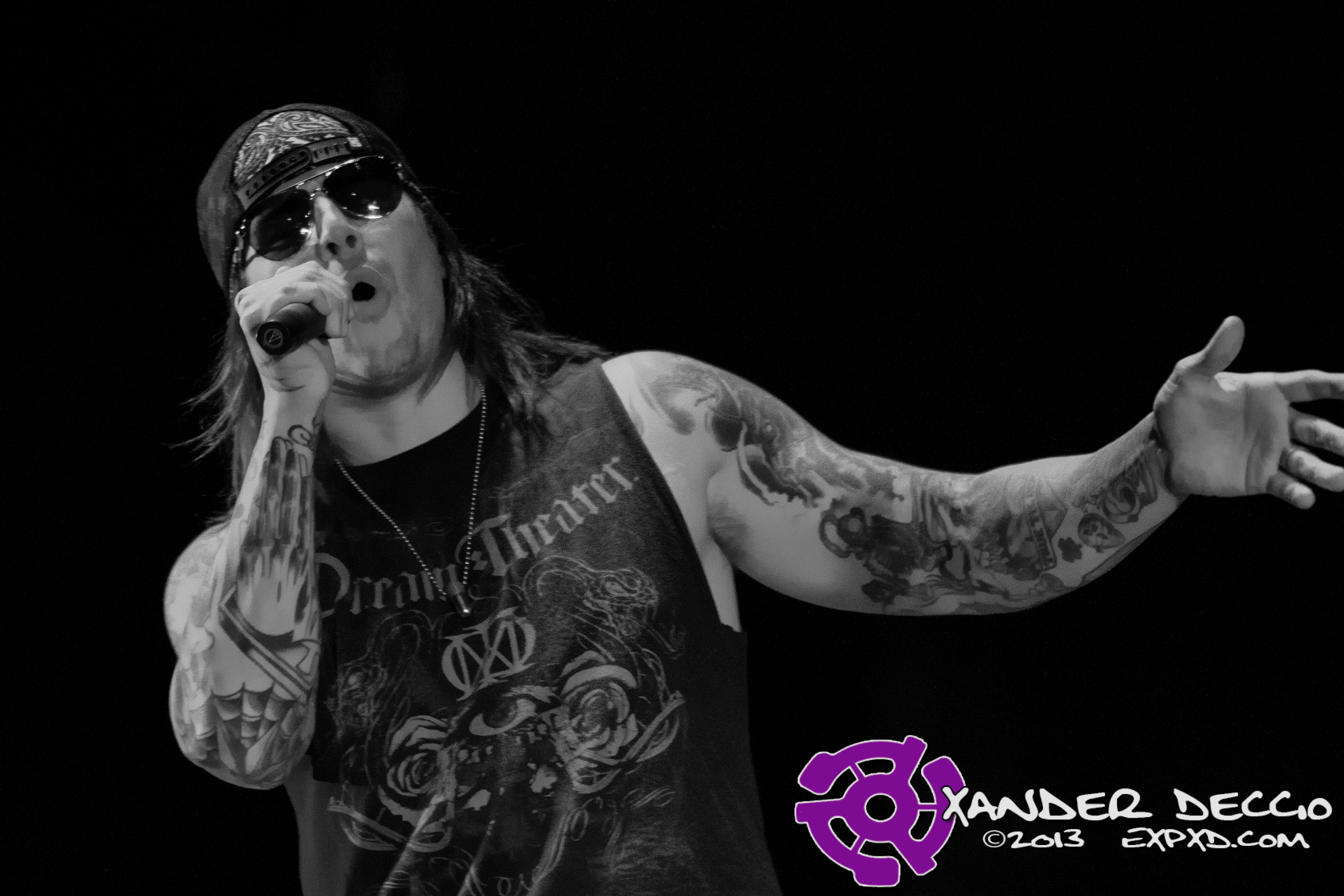 Pain In The Grass 2013: Avenged Sevenfold (Photo by Xander Deccio)
