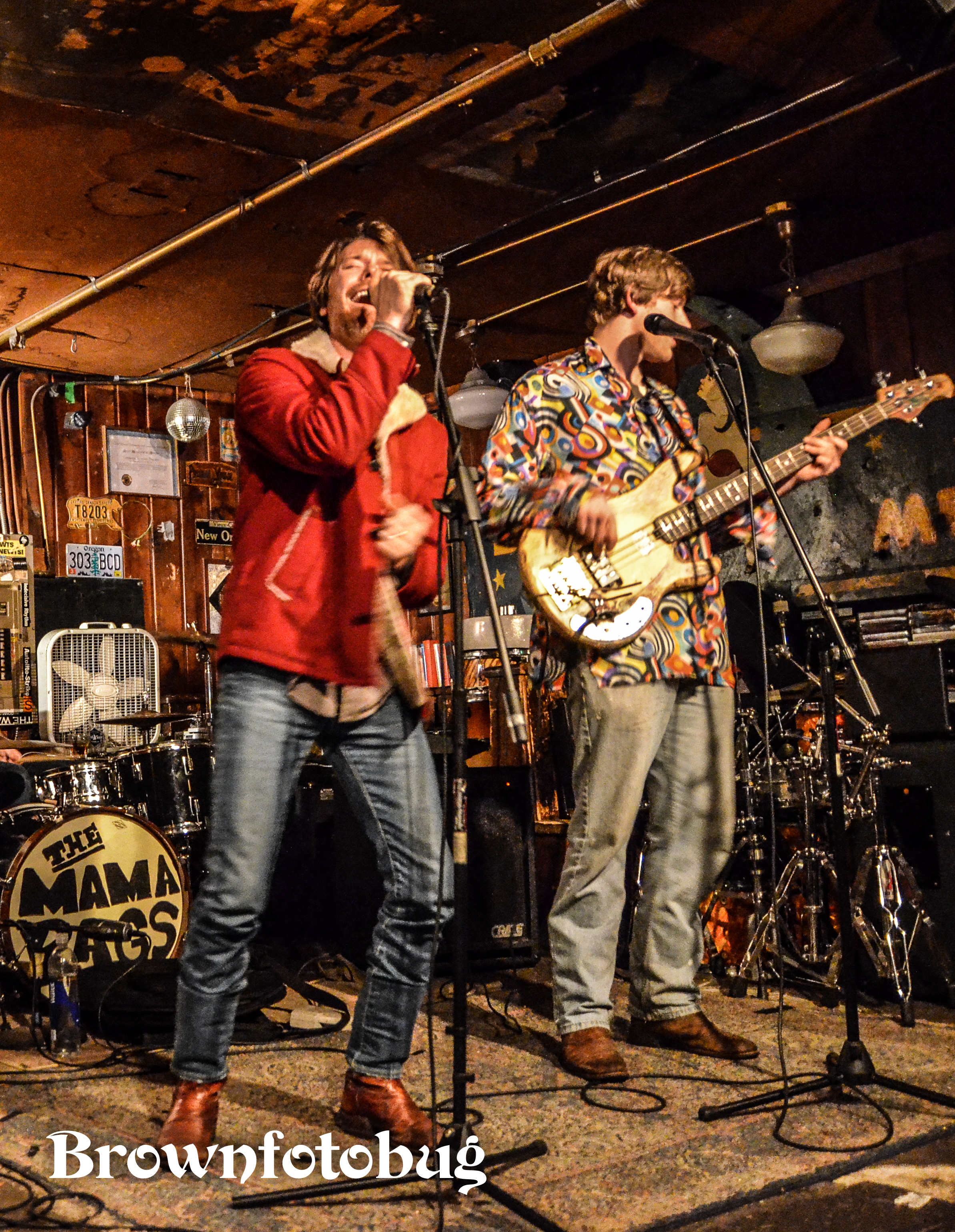 The Mama Rags Live at Blue Moon (Photo by Arlene Brown)