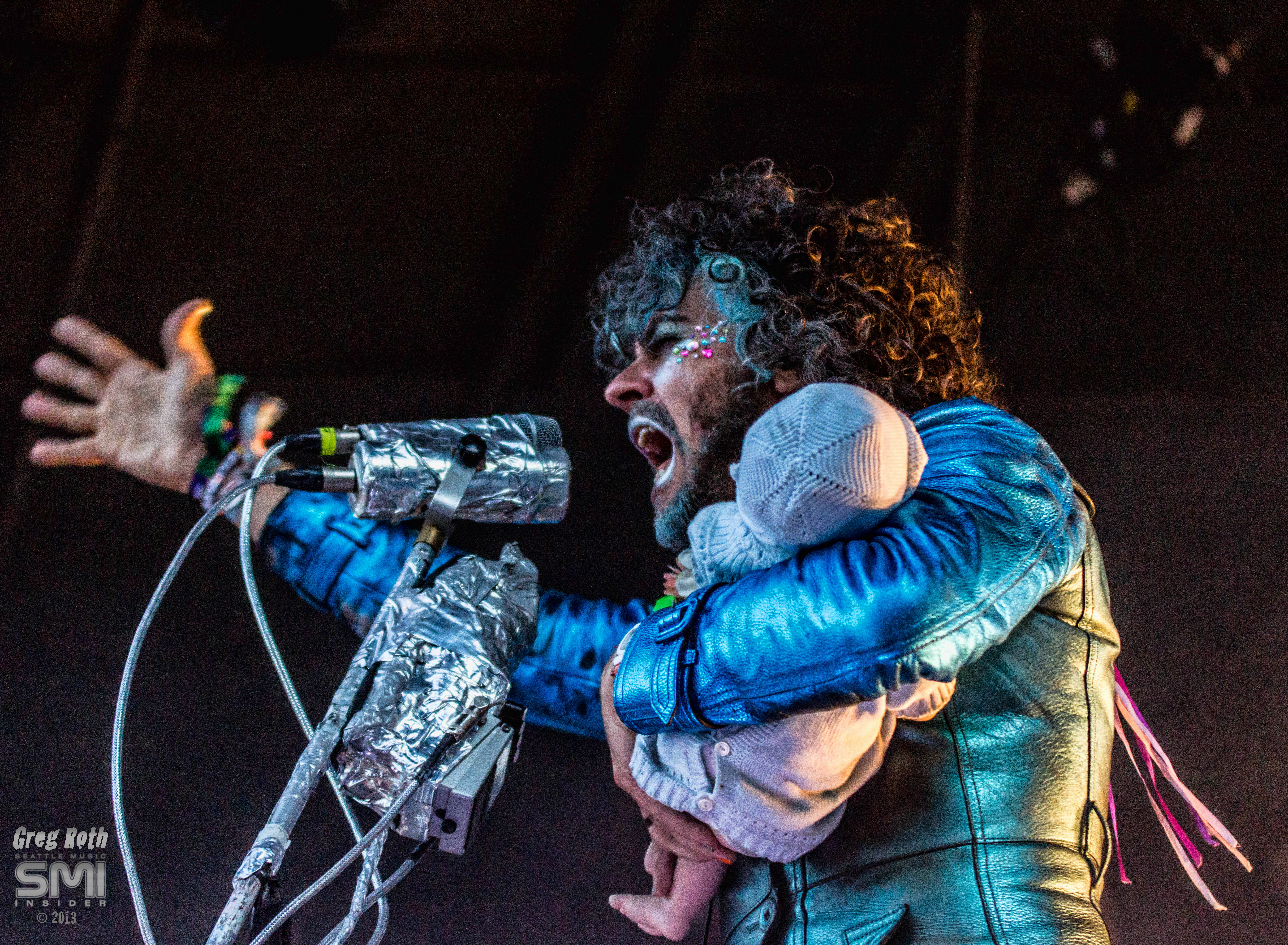 The Flaming Lips @ Capitol Hill Block Party 2013 (Photo by Greg Roth)
