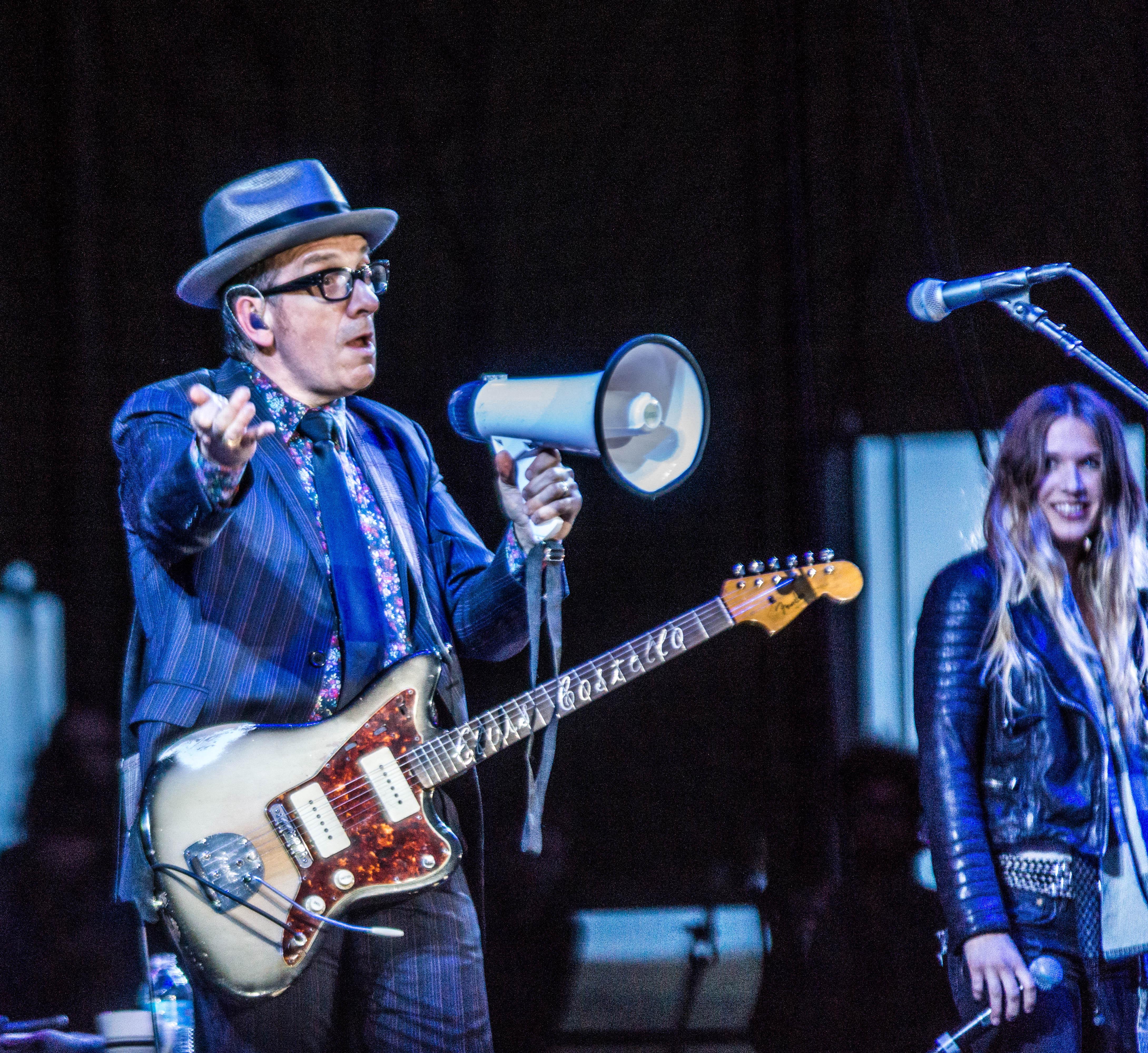 Elvis Costello @ Sasquatch! 2013 (Photo by Greg Roth)