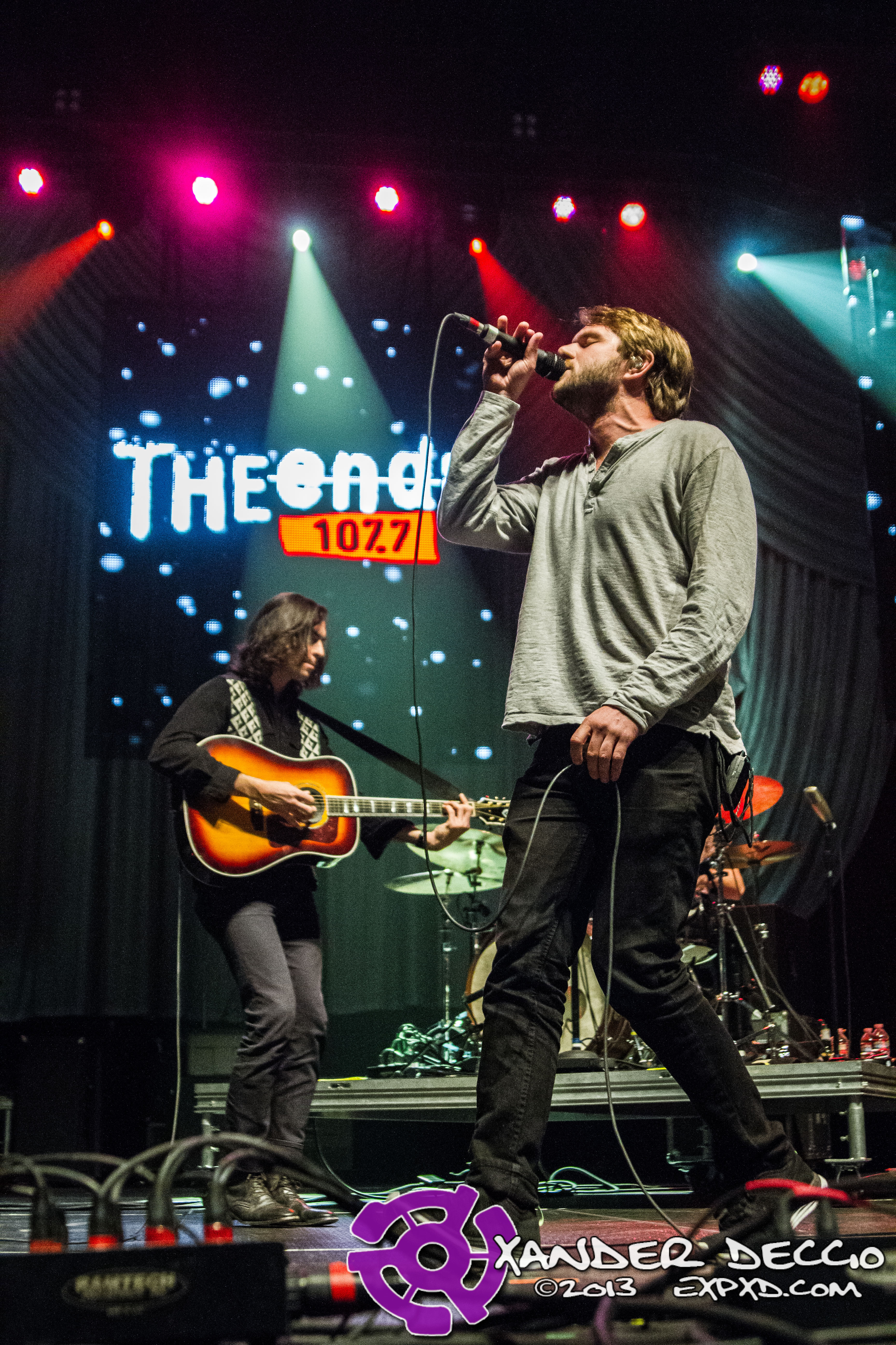 """107.7 The End's """"Deck The Hall Ball"""" 2013 (Photo by Xander Deccio)"""