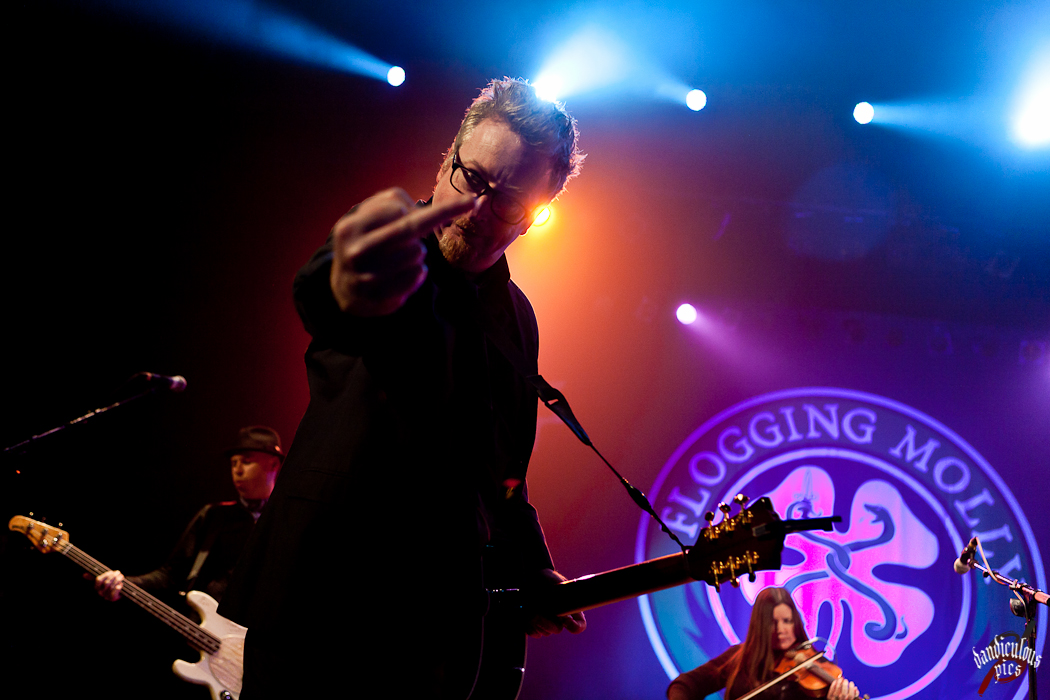 Flogging Molly @ The Paramount (Photo by Dan Rogers)