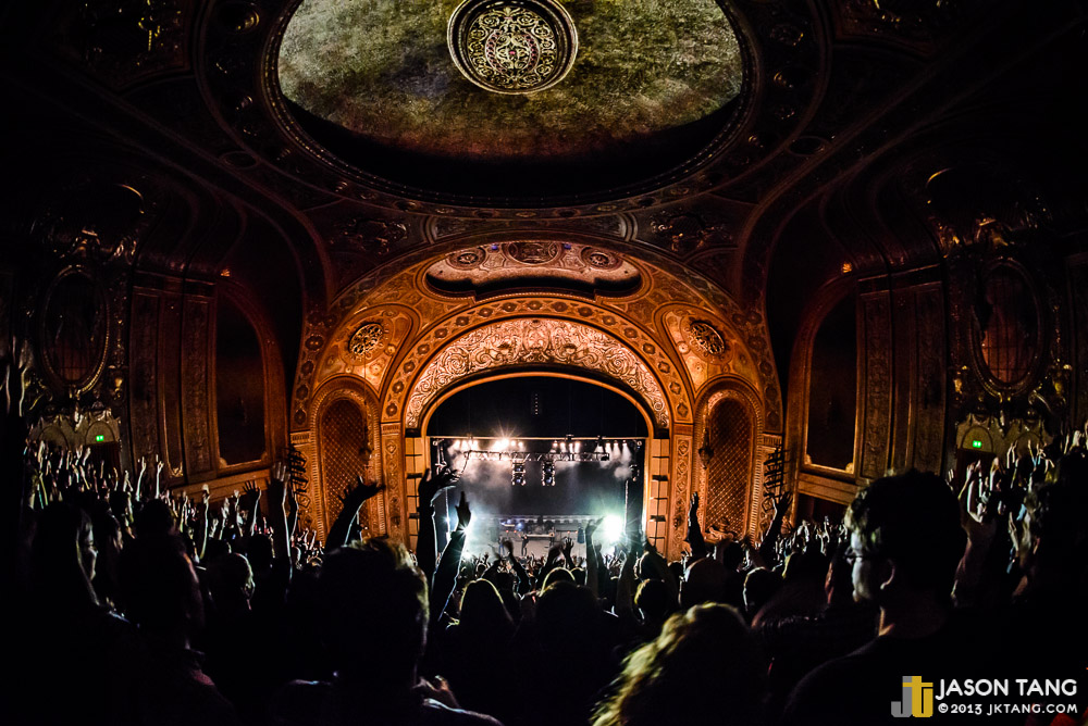 Phoenix @ The Paramount Theatre (Photo by Jason Tang)
