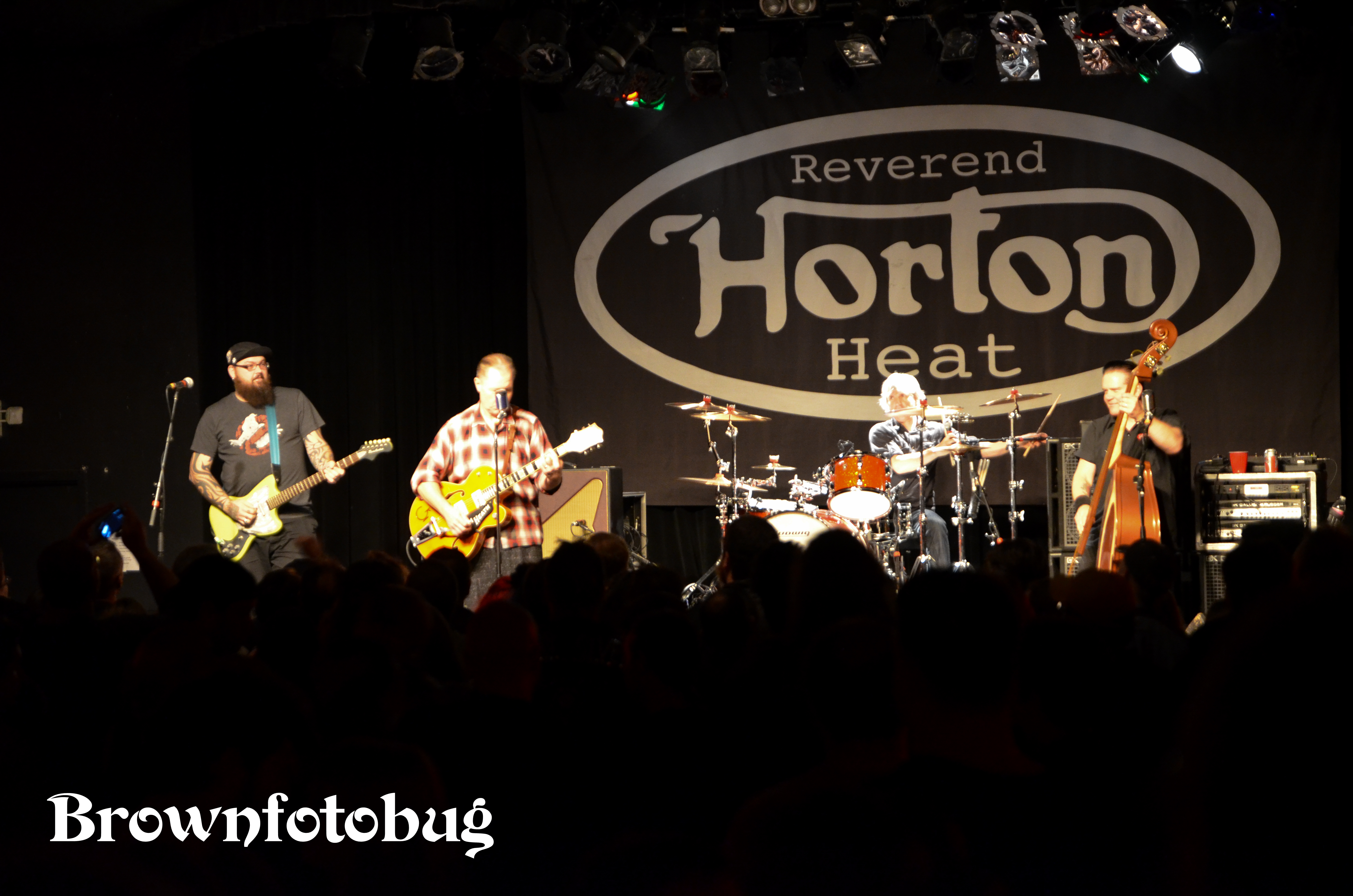 Reverend Horton Heat at Showbox @ The Market 1/9/14)