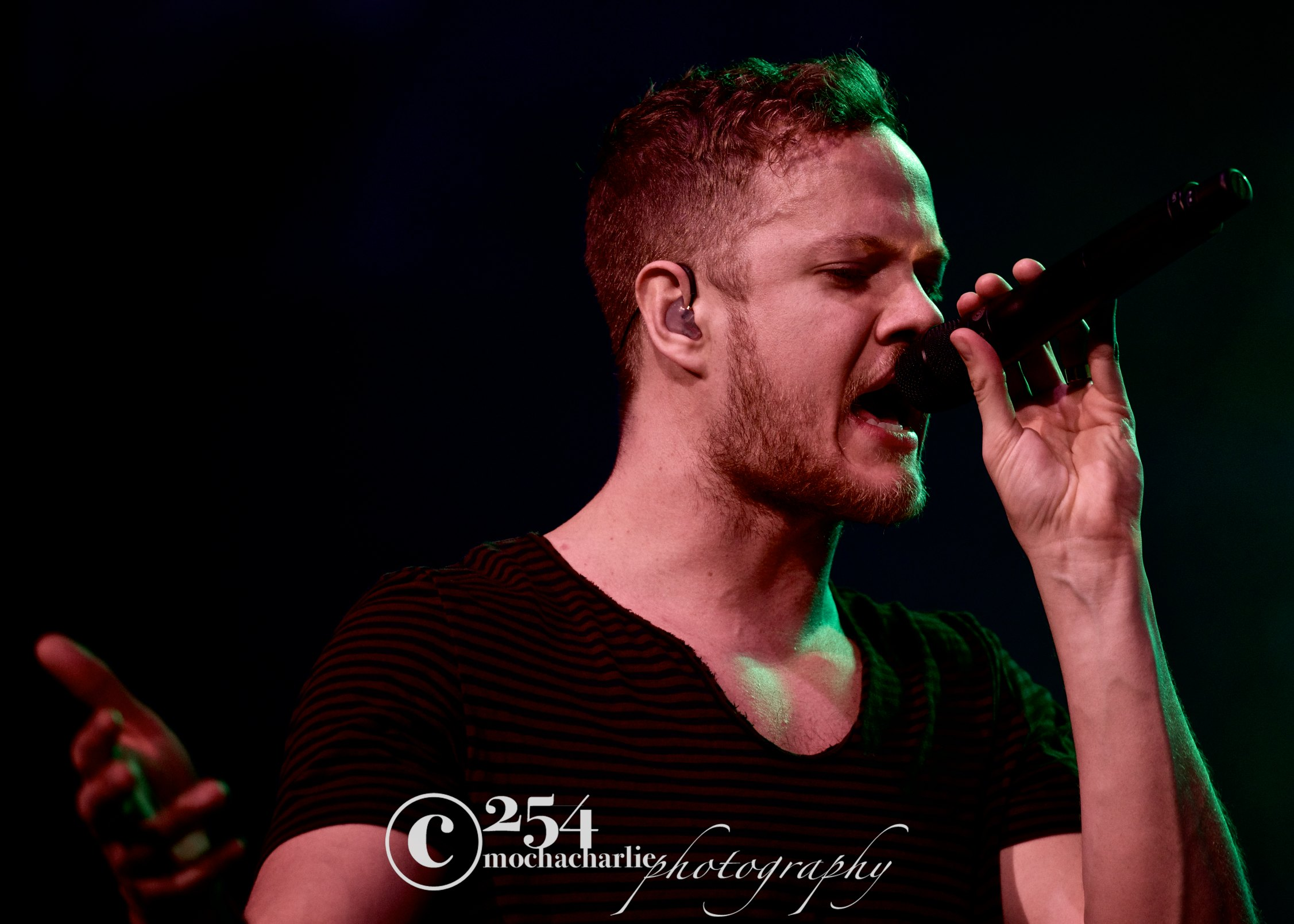 Imagine Dragons, X Ambassadors The Naked And Famous @ Key Arena (Photo by Mocha Charlie)