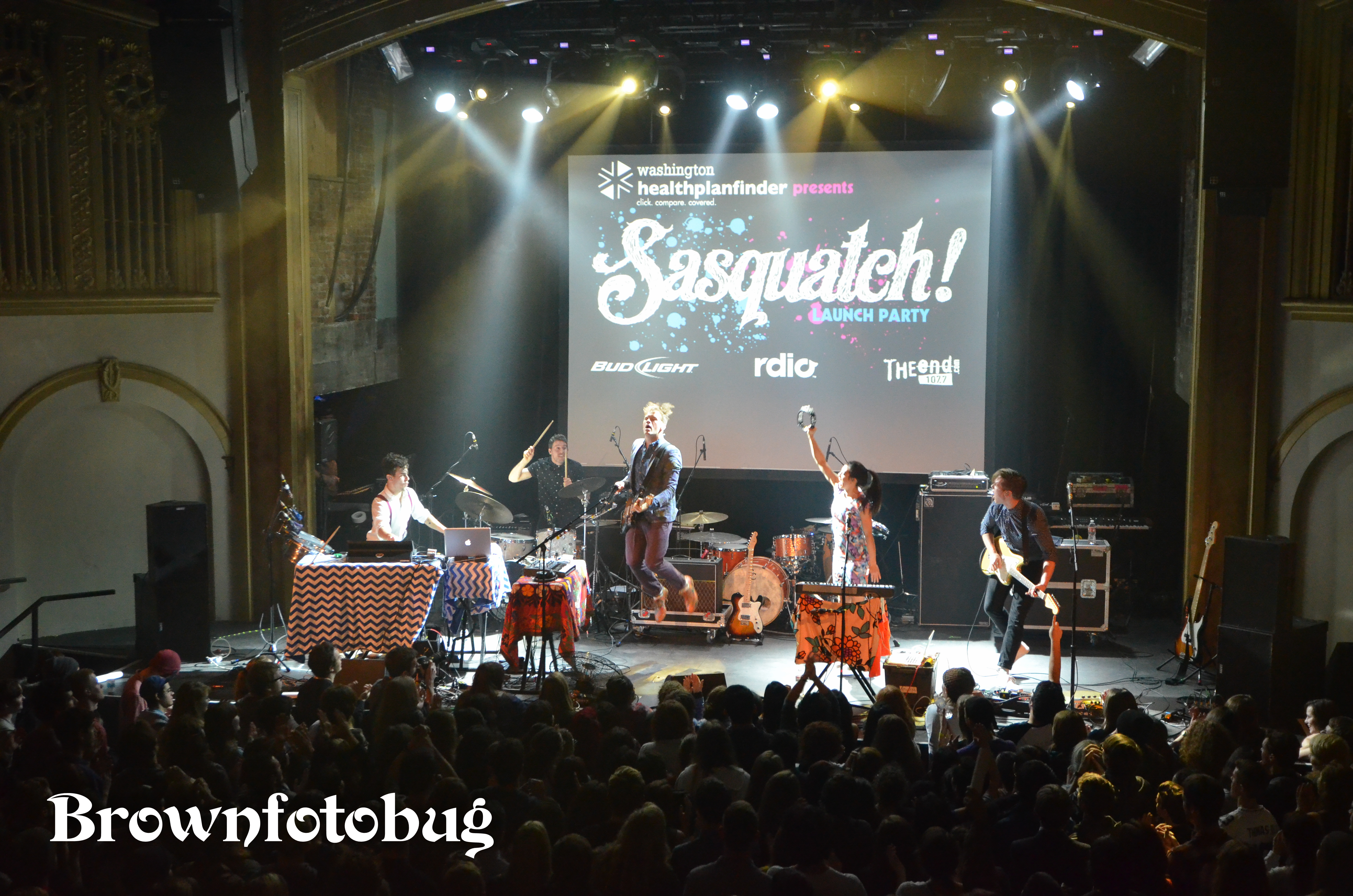 Sasquatch! 2014 Launch Party (Photo by Arlene Brown)