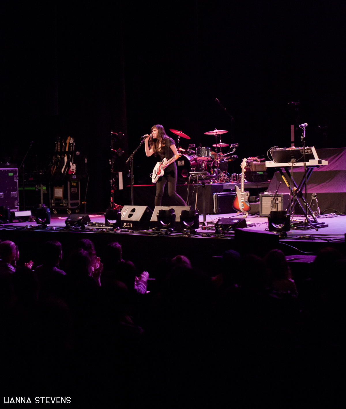 Noveller Live at The Moore (Photo by Hanna Stevens)