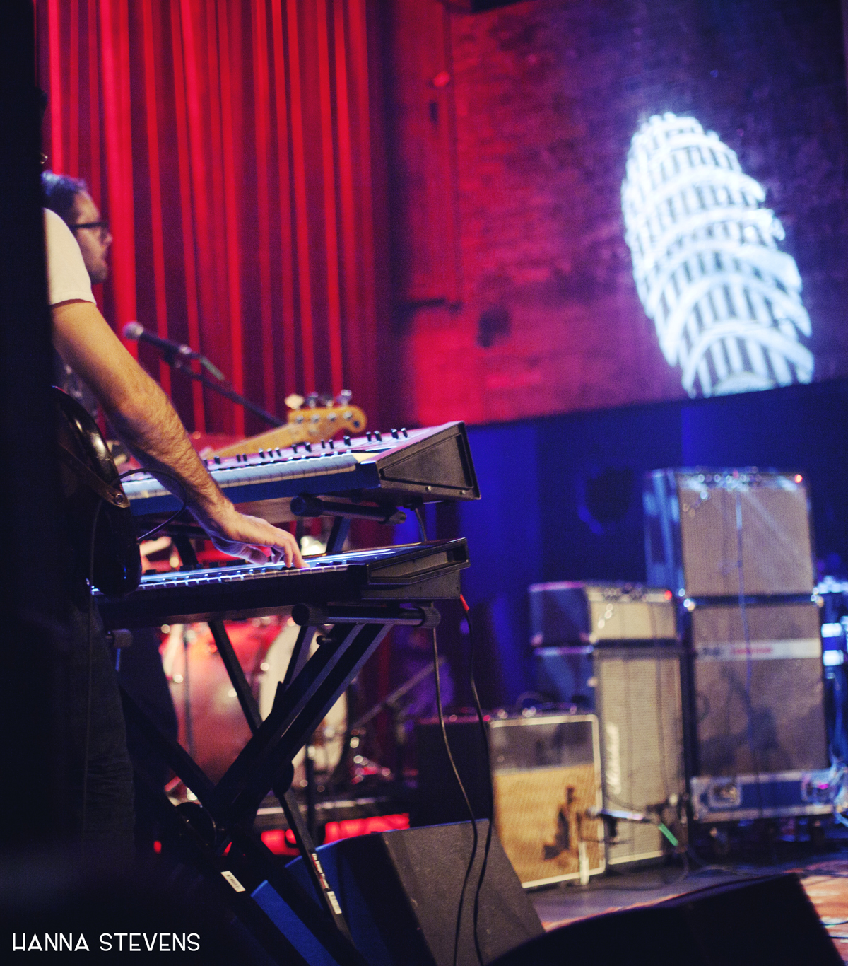 War on Drugs Live at The Neptune (photo by Hanna Stevens)