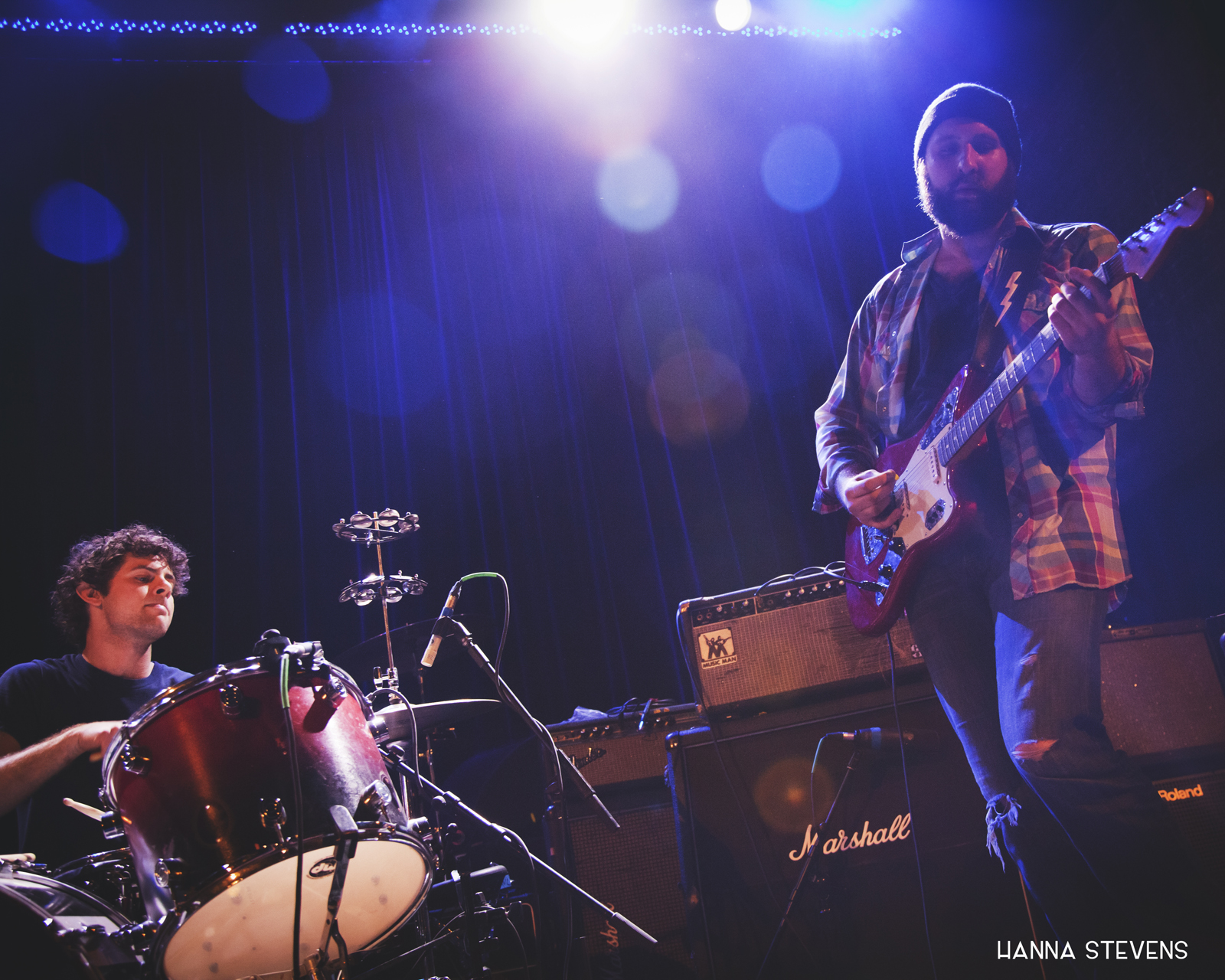 White Denim Live at The Neptune (photo by Hanna Stevens)