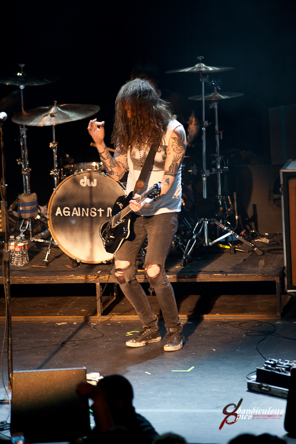 Against Me Live at Neptune Theater (Photo by Dan Rogers)