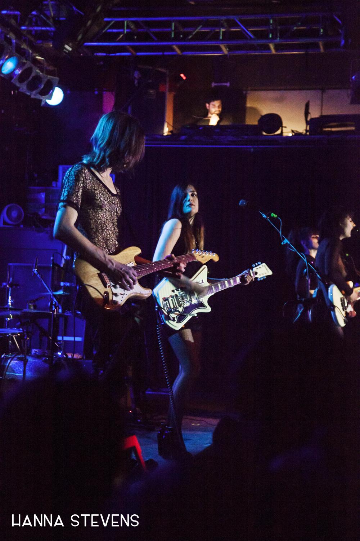 Dum Dum Girls Live at Neumos (Photo by Hanna Stevens)