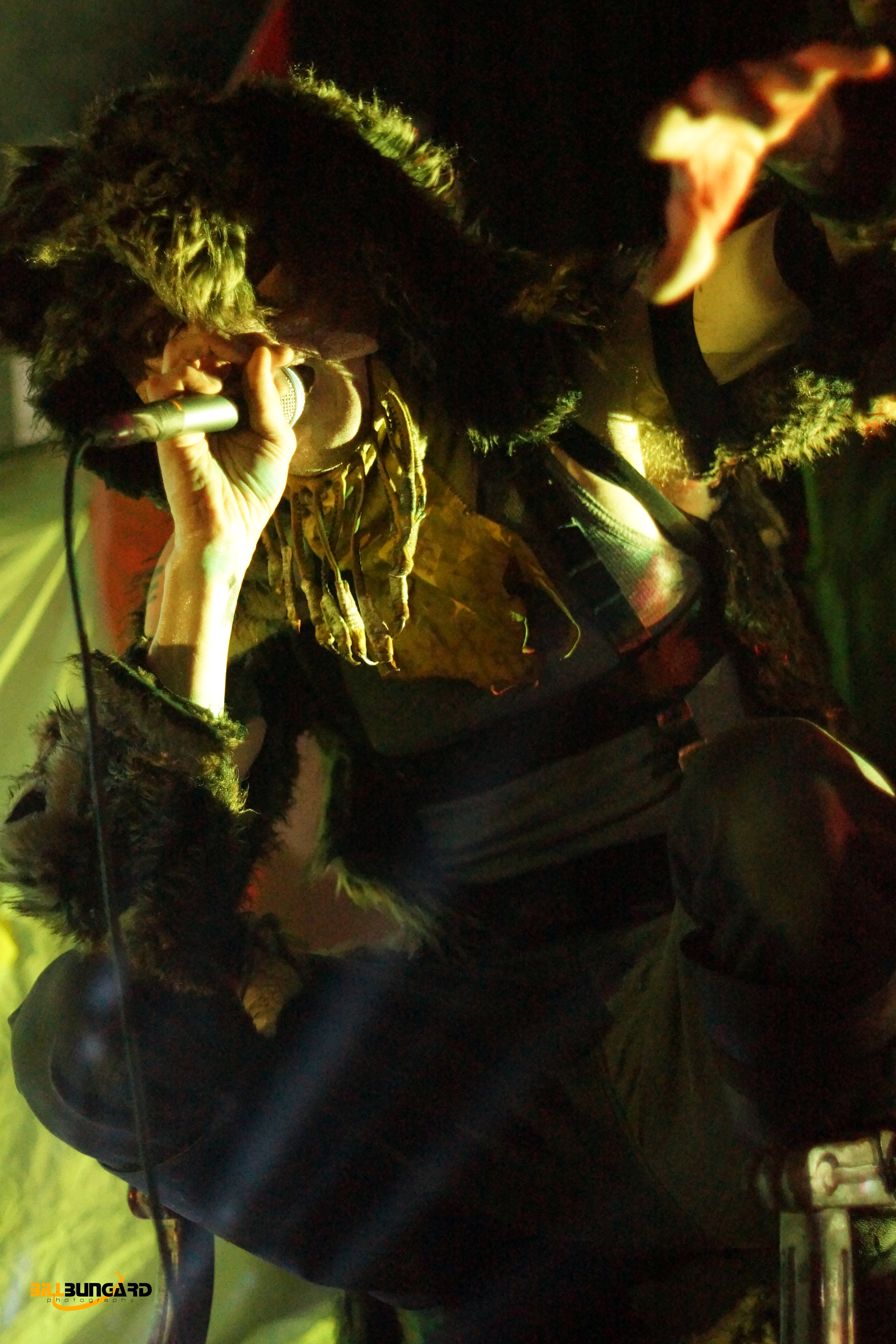 Skinny Puppy Live at Showbox (Photo by Bill Bungard)