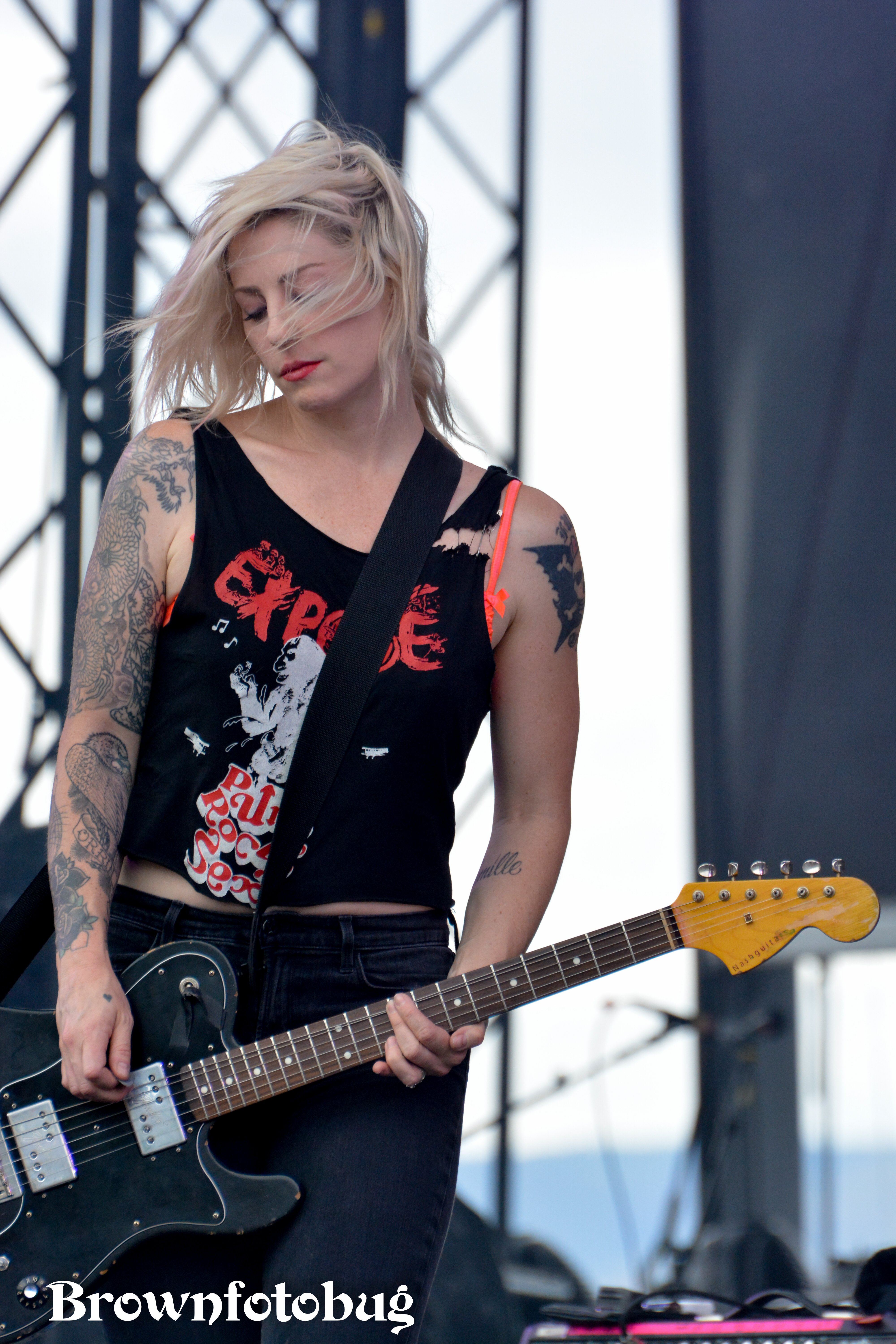 Brody Dalle at Sasquatch! Festival Day 3 (Photo by Arlene Brown)