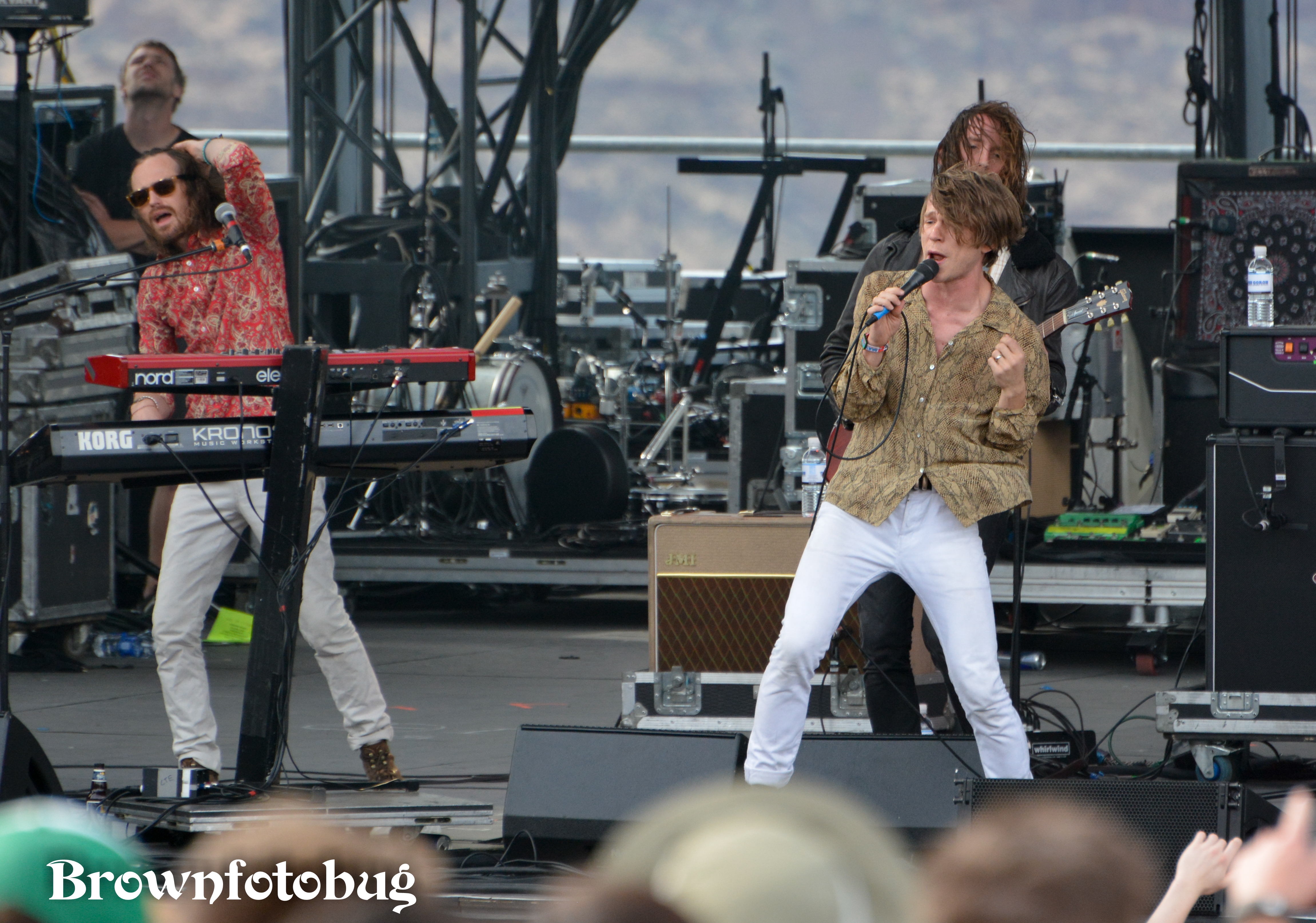 Cage the Elephant Sasquatch! Festival Day 1 (Photo by Arlene Brown)