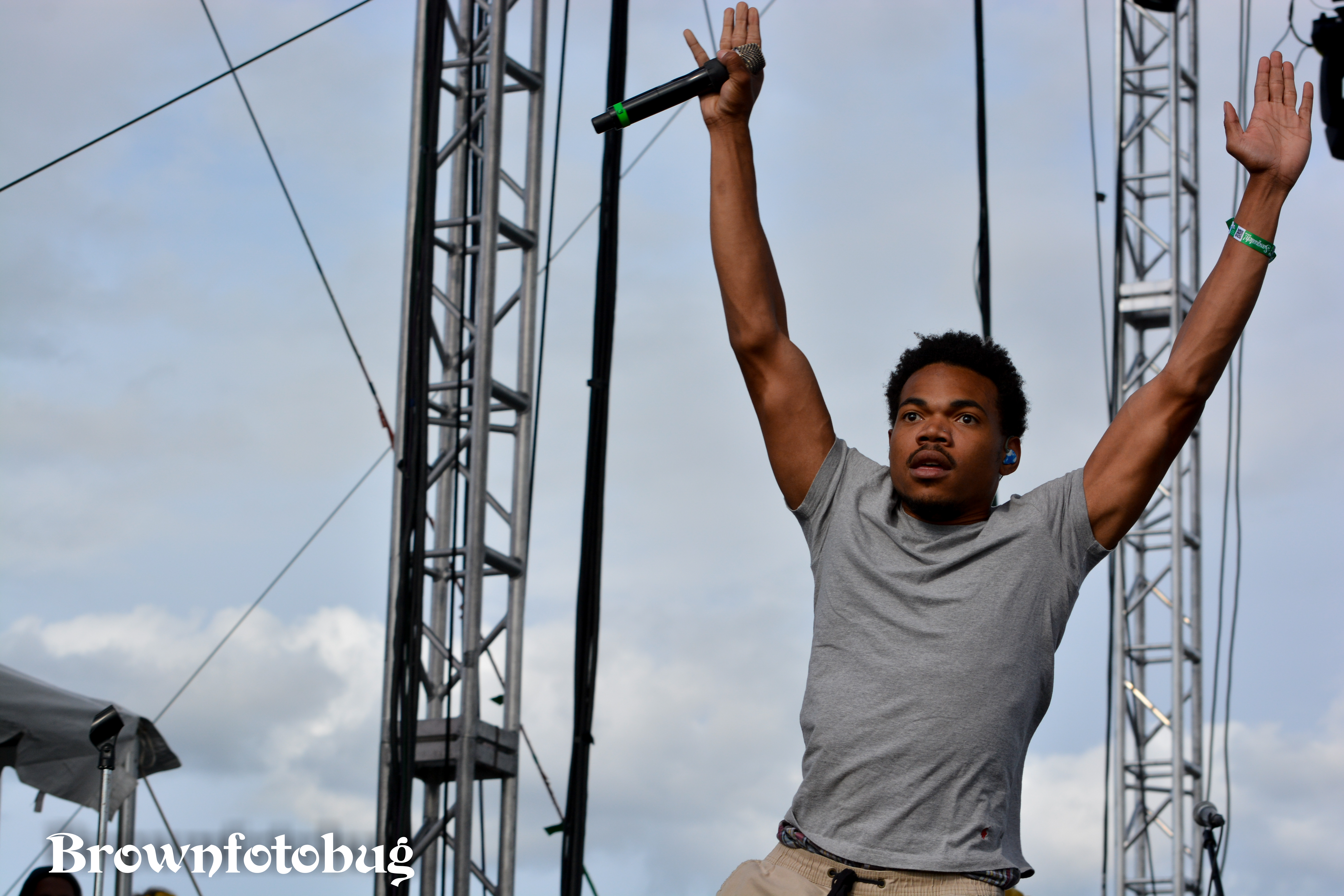Chance the Rapper Sasquatch! Festival Day 1 (Photo by Arlene Brown)