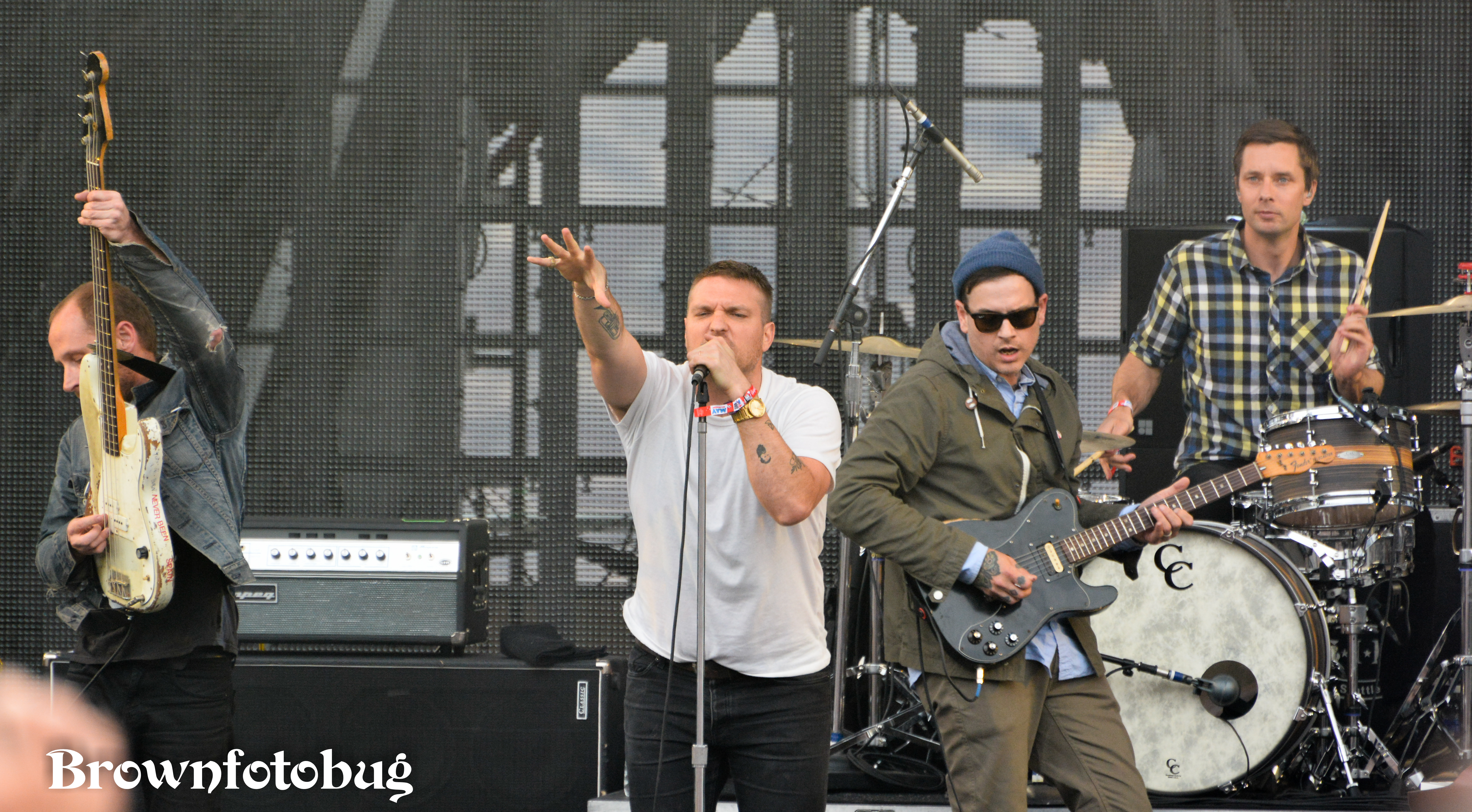 Cold War Kids at Sasquatch! Festival Day 3 (Photo by Arlene Brown)