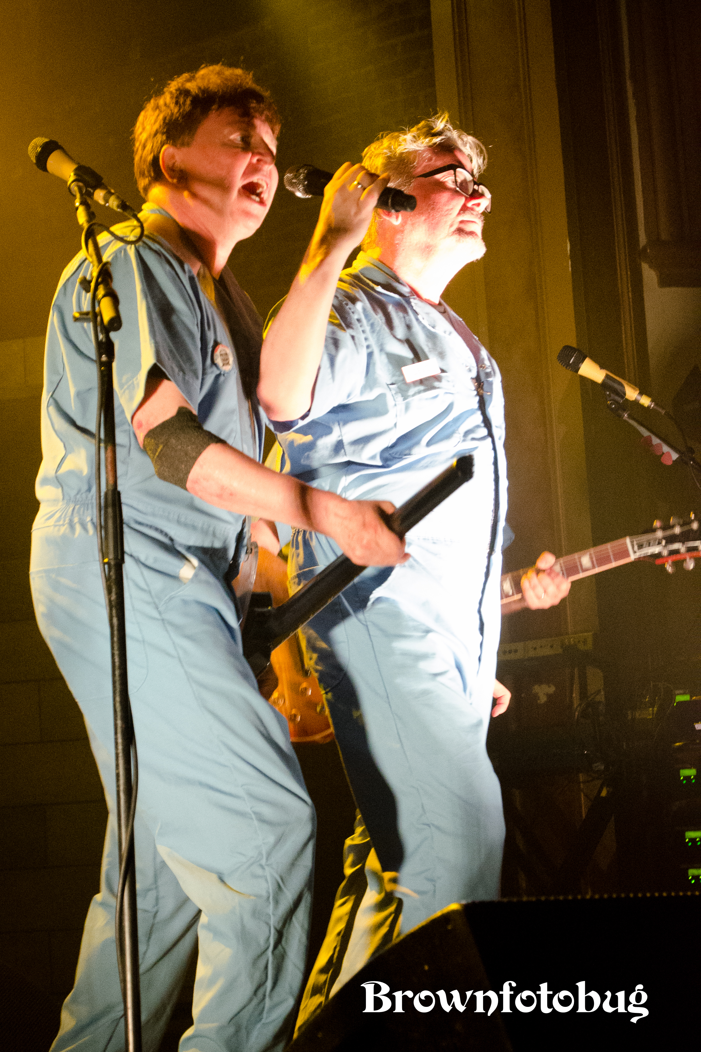 DEVO Live at The Neptune (Photo by Arlene Brown)