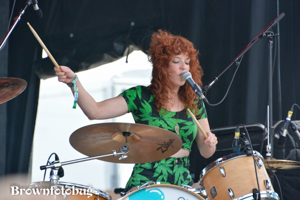 Deap Vally at Sasquatch! Festival Day 2 (Photo by Arlene Brown)