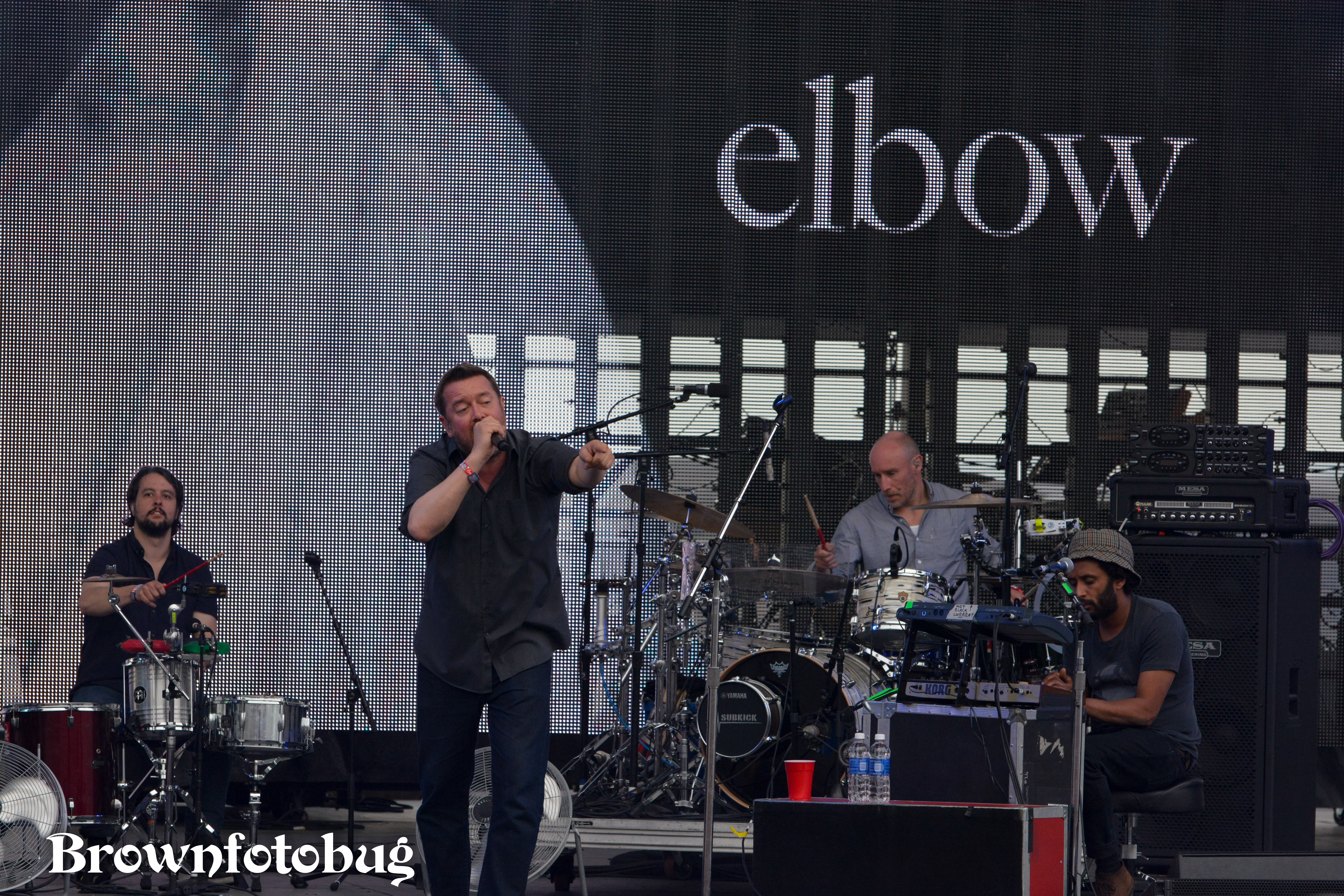 Elbow at Sasquatch! Festival Day 3 (Photo by Arlene Brown)