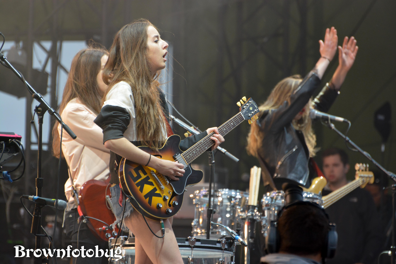 Haim at Sasquatch! Festival Day 3 (Photo by Arlene Brown)