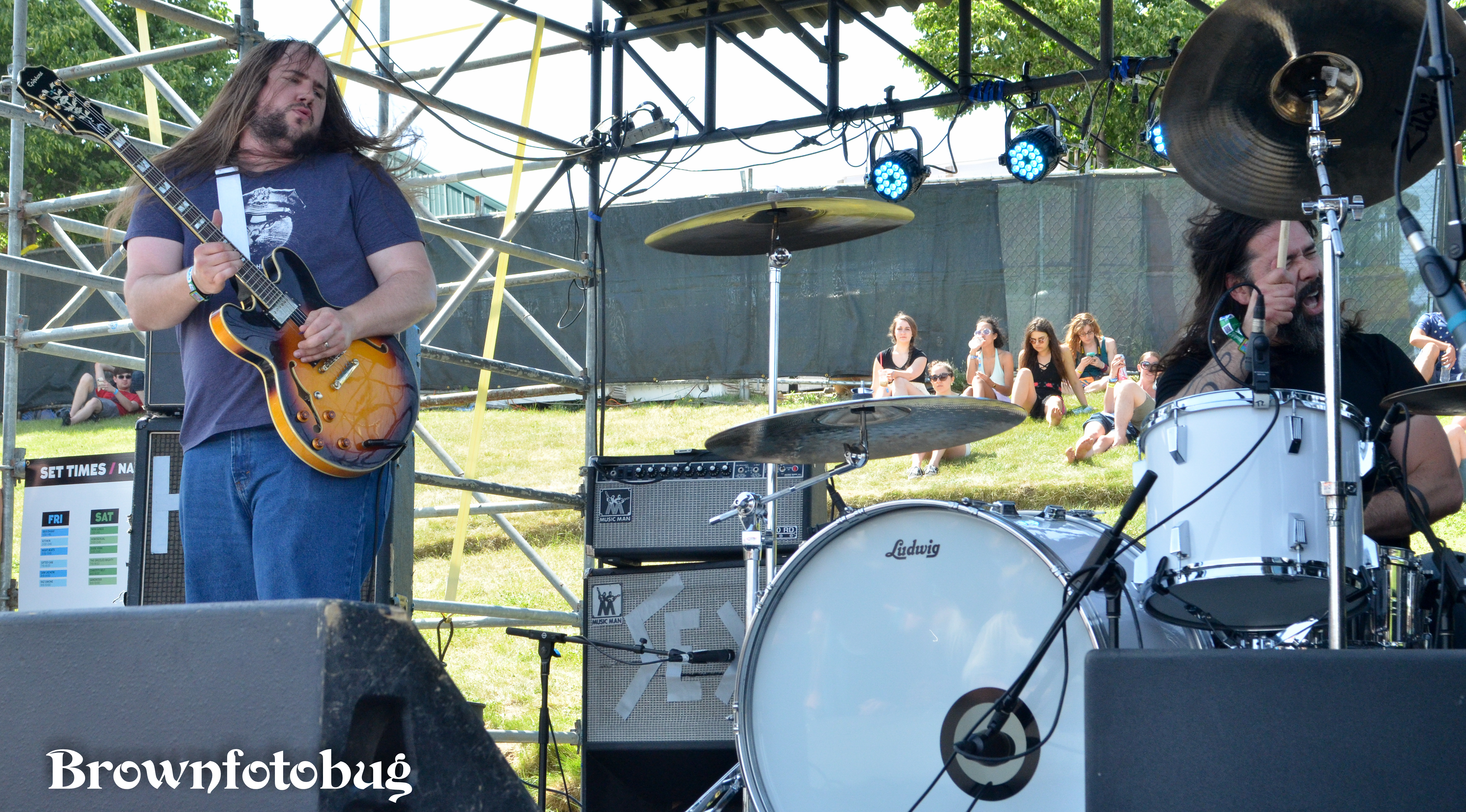 Hobosexual at Sasquatch! Festival Day 2 (Photo by Arlene Brown)