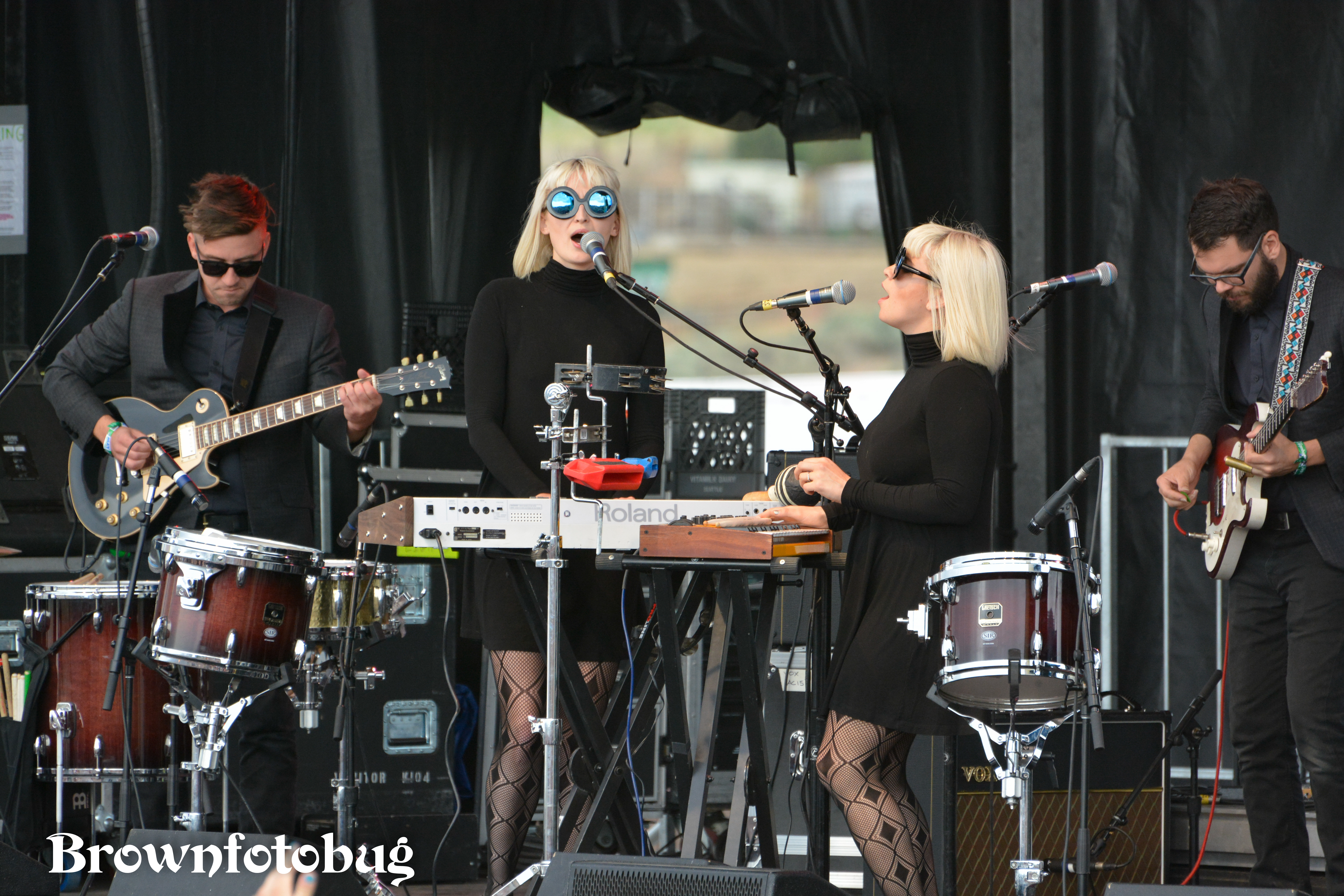 Lucius at Sasquatch! Festival Day 3 (Photo by Arlene Brown)