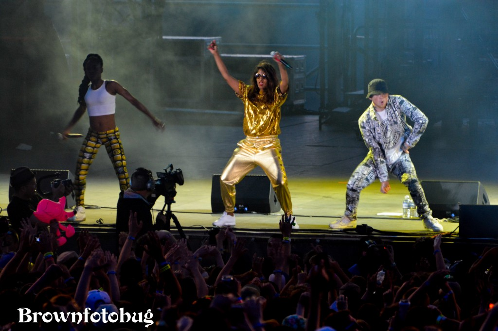 M.I.A. at Sasquatch! Festival Day 2 (Photo by Arlene Brown)
