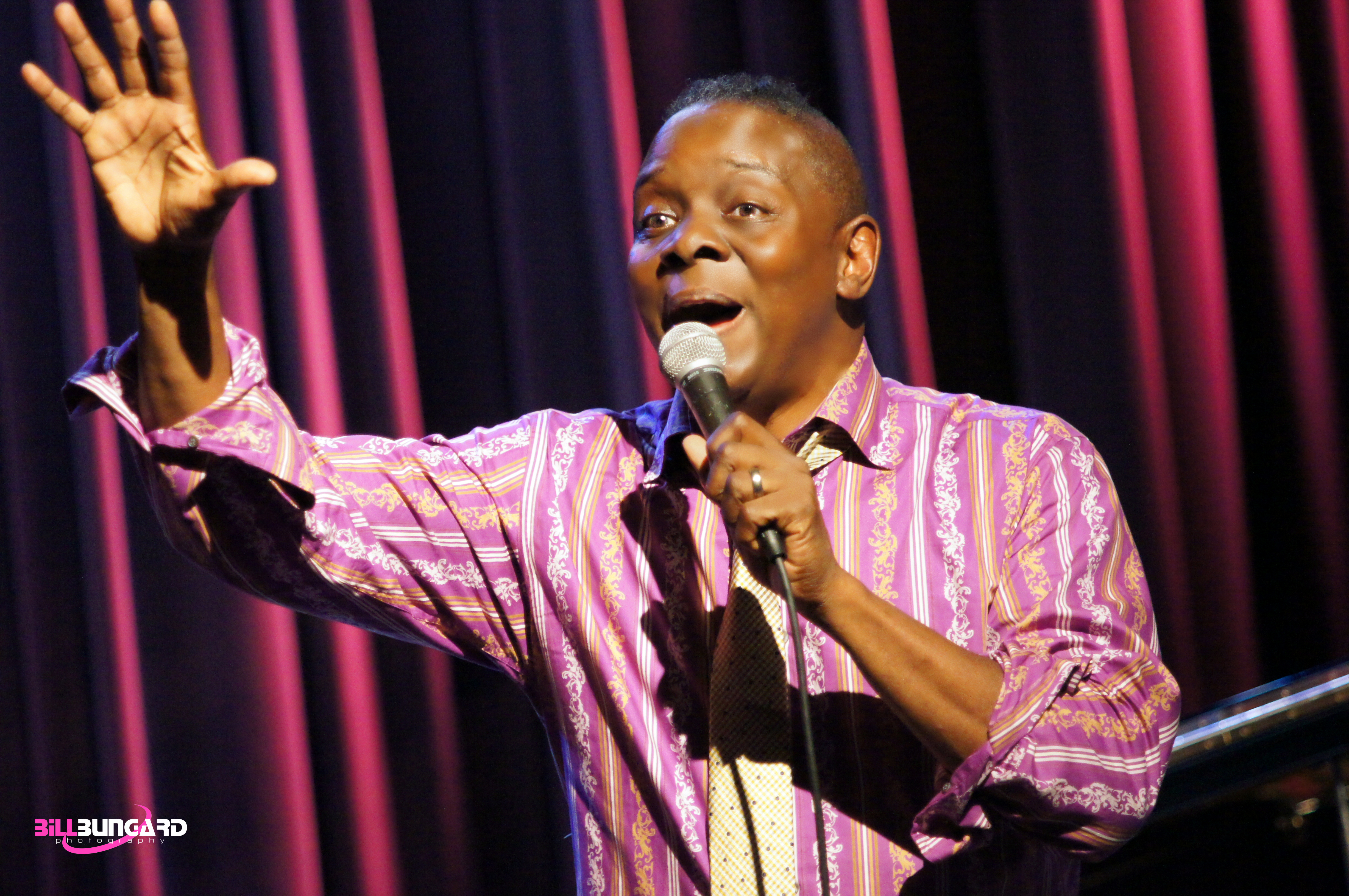 Philip Bailey at Jazz Alley (Photo by Bill Bungard)