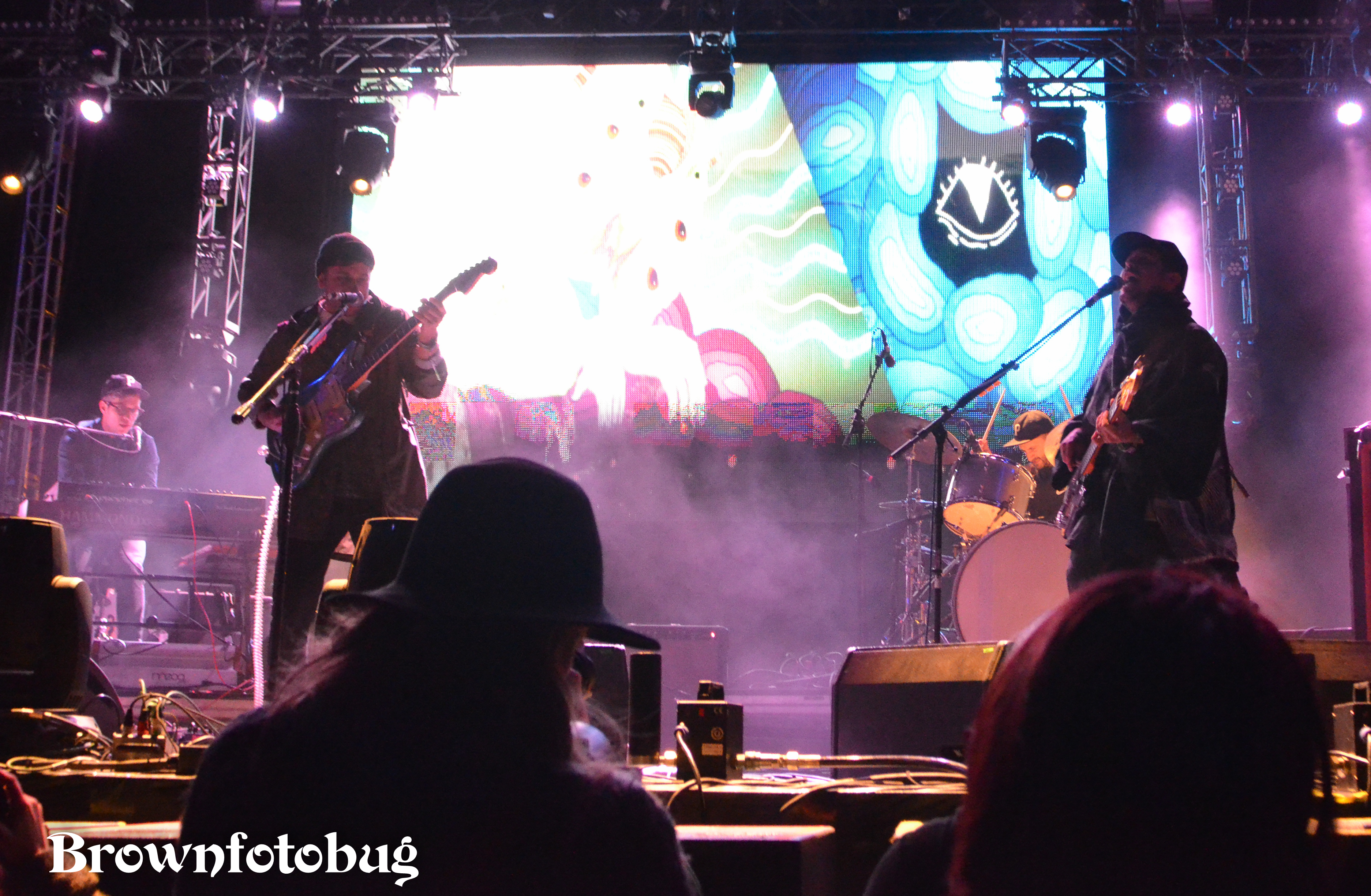 Portugal. The Man at Sasquatch! Festival Day 3 (Photo by Arlene Brown)