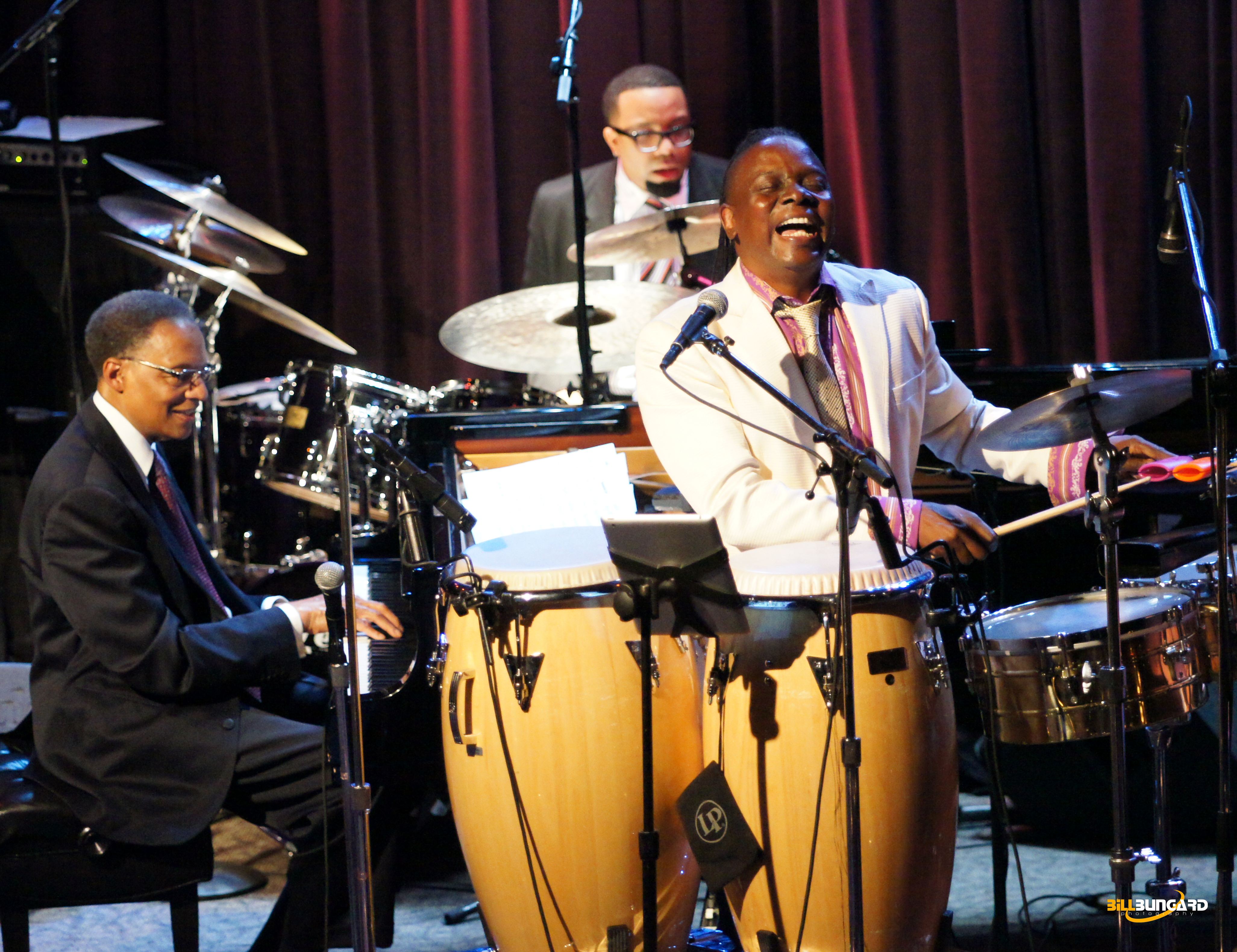 Ramsey Lewis and Philip Bailey at Jazz Alley (Photo by Bill Bungard)