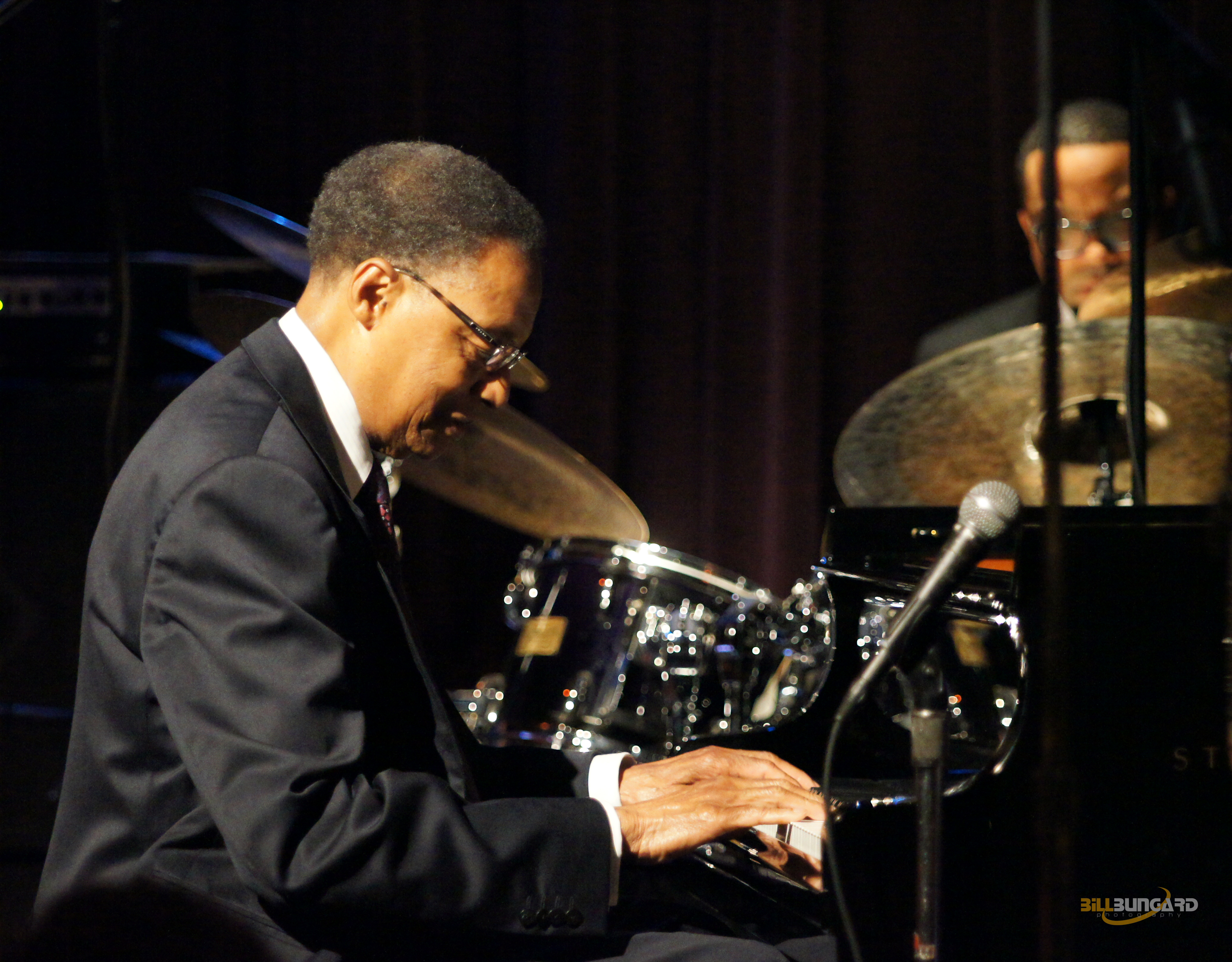 Ramsey Lewis at Jazz Alley (Photo by Bill Bungard)