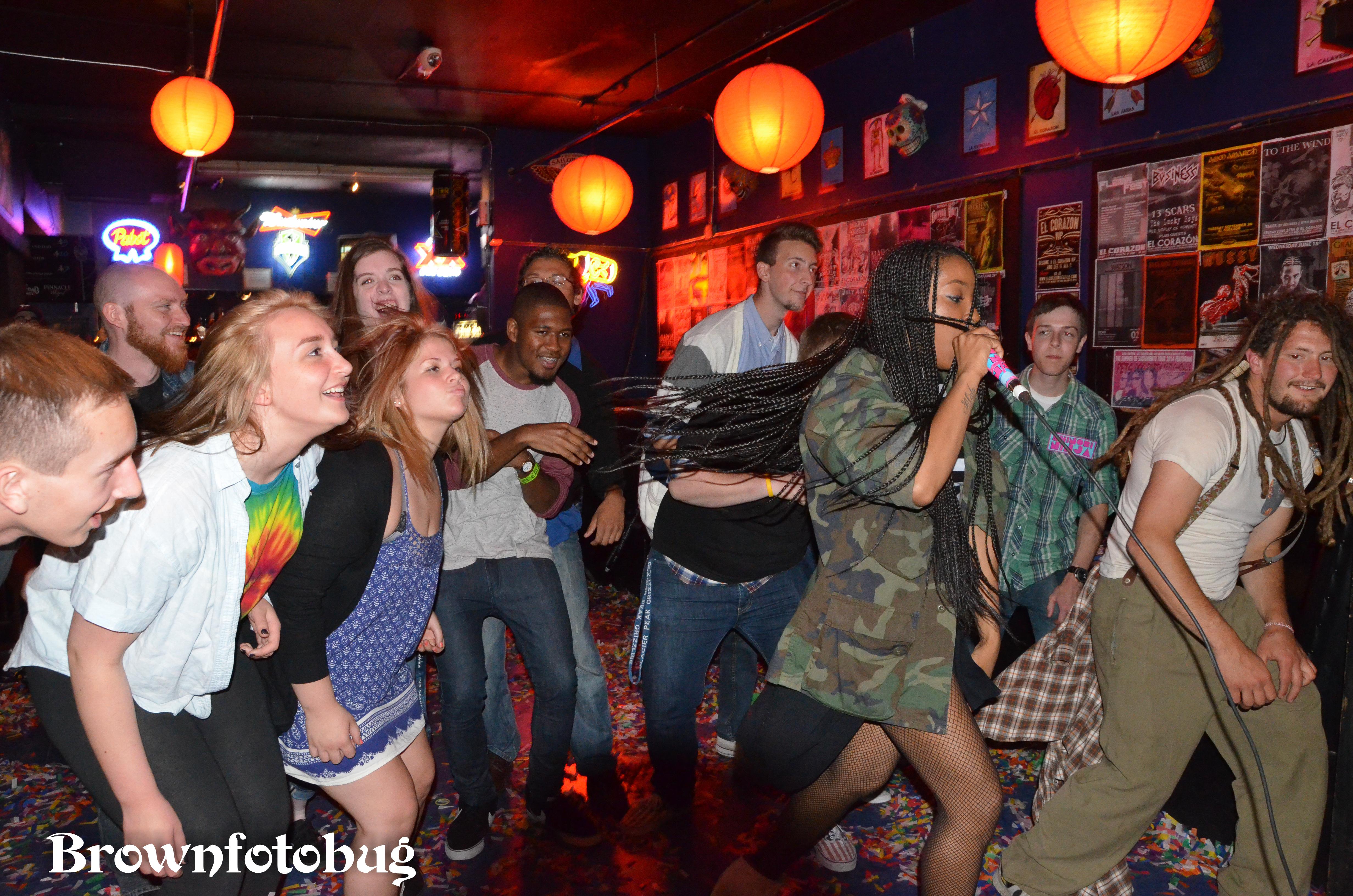 Shinobi Ninja Live at El Corazon (Photo by Arlene Brown)