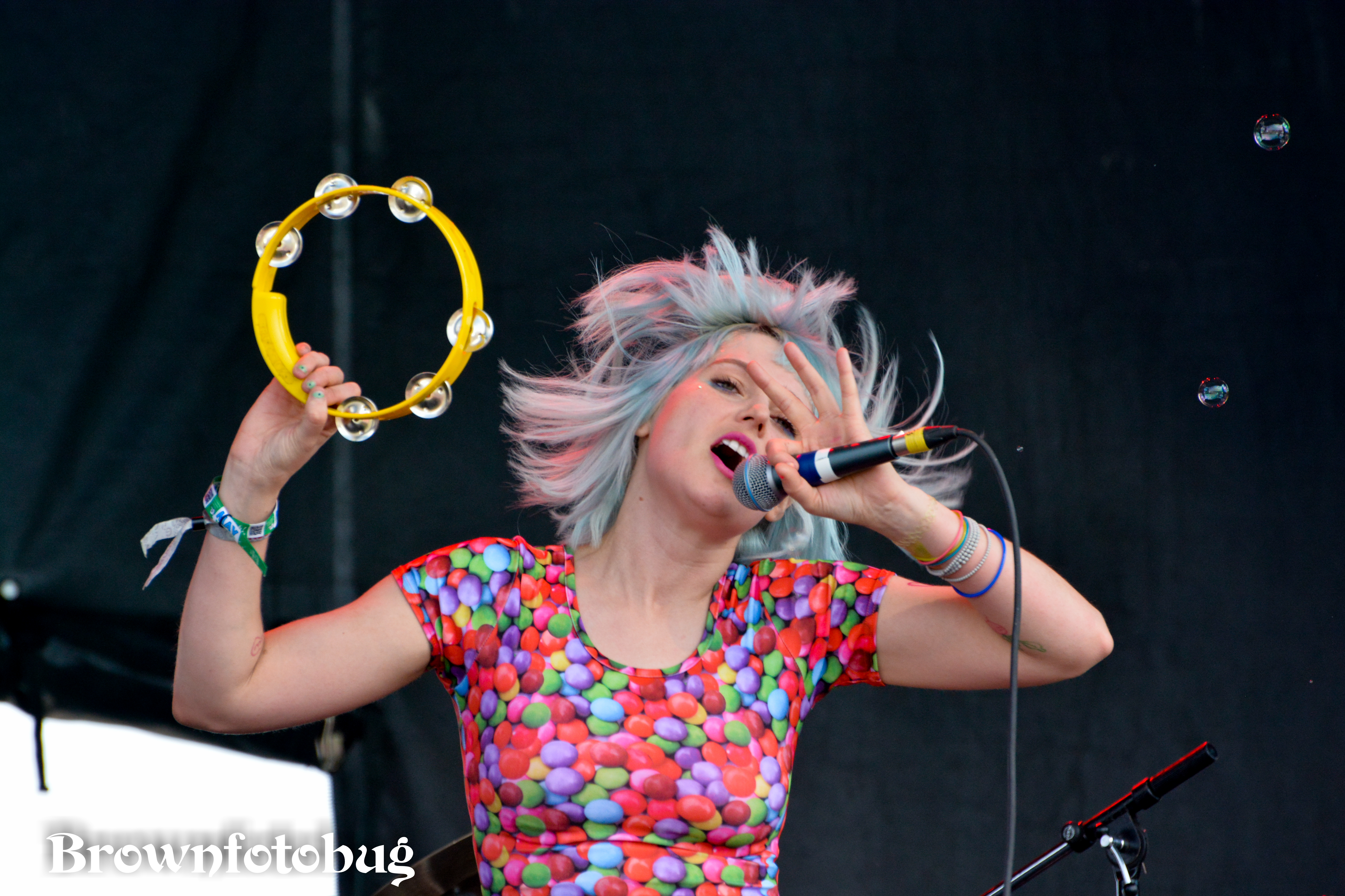 Tacocat at Sasquatch! Festival Day 3 (Photo by Arlene Brown)