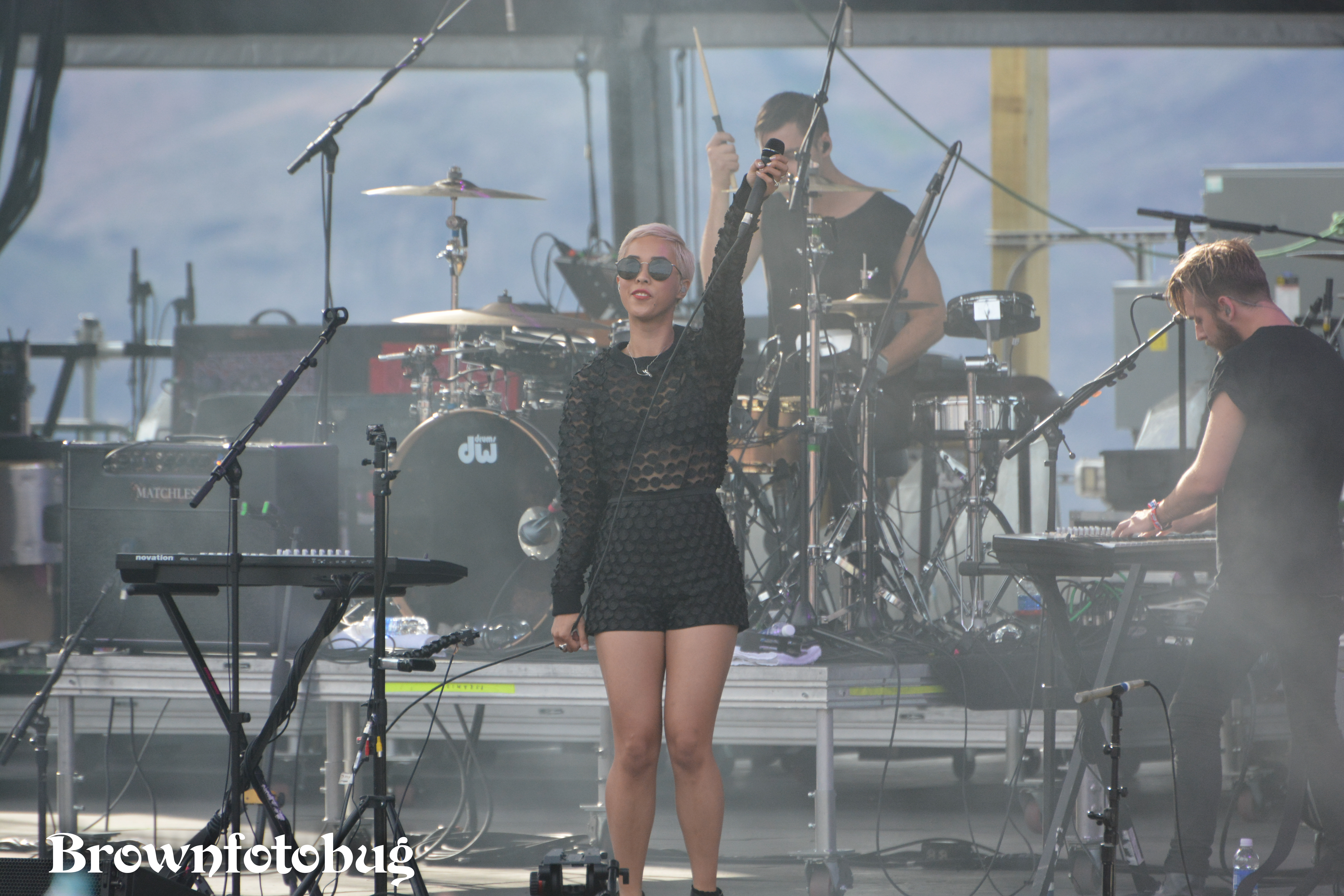 The Naked and Famous at Sasquatch! Festival Day 1 (Photo by Arlene Brown)