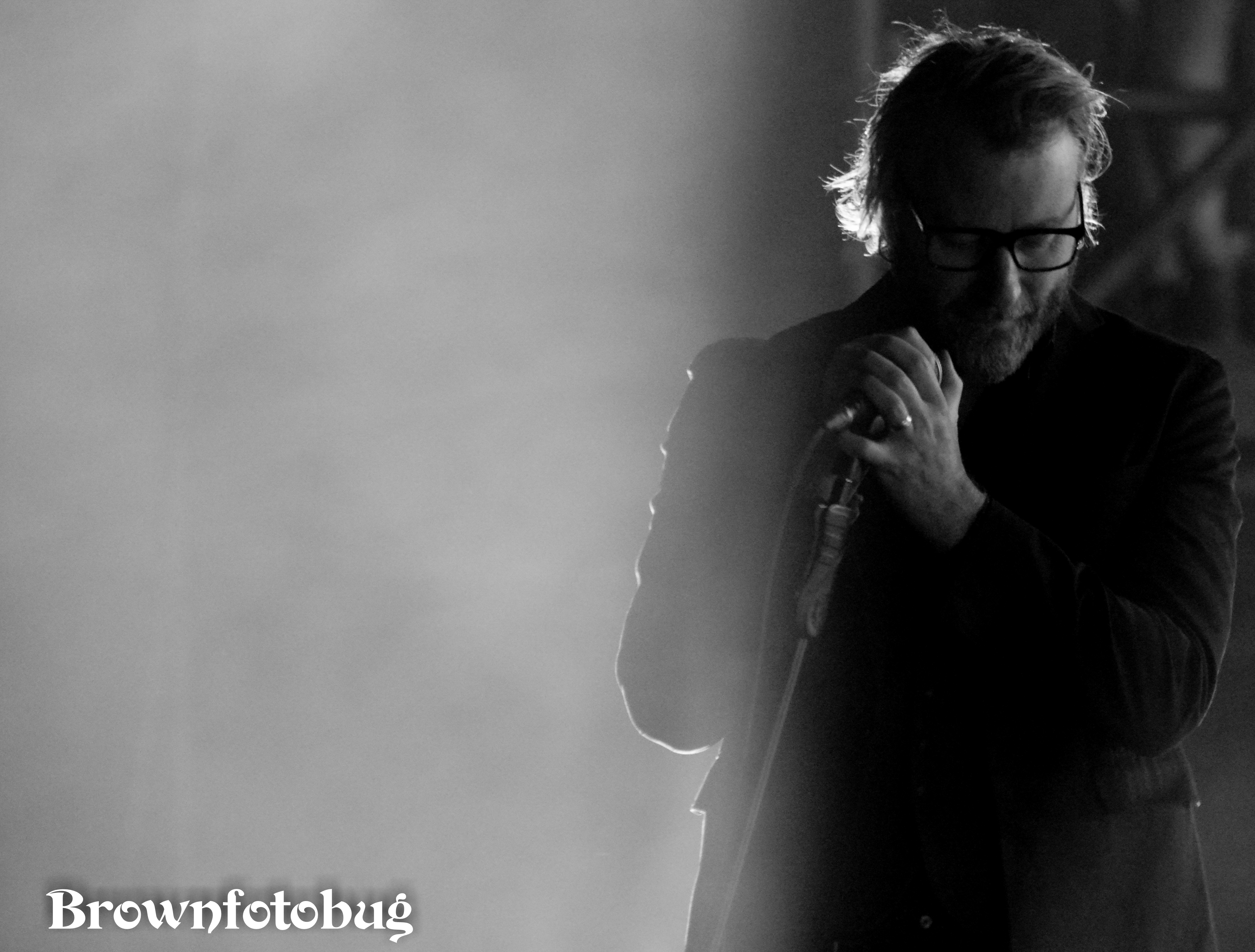 The National at Sasquatch! Festival Day 2 (Photo by Arlene Brown)
