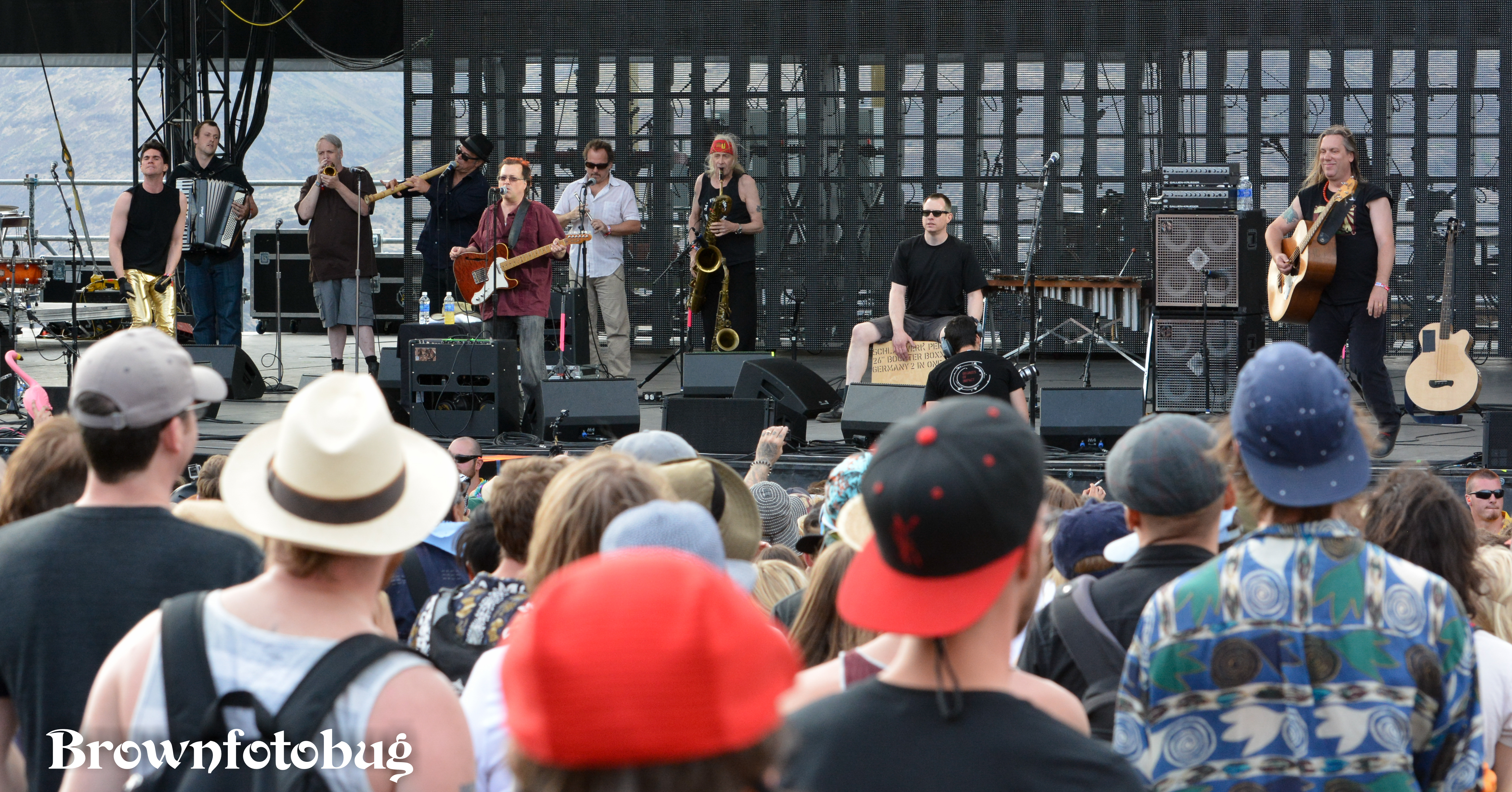 Violent Femmes at Sasquatch! Festival Day 2 (Photo by Arlene Brown)