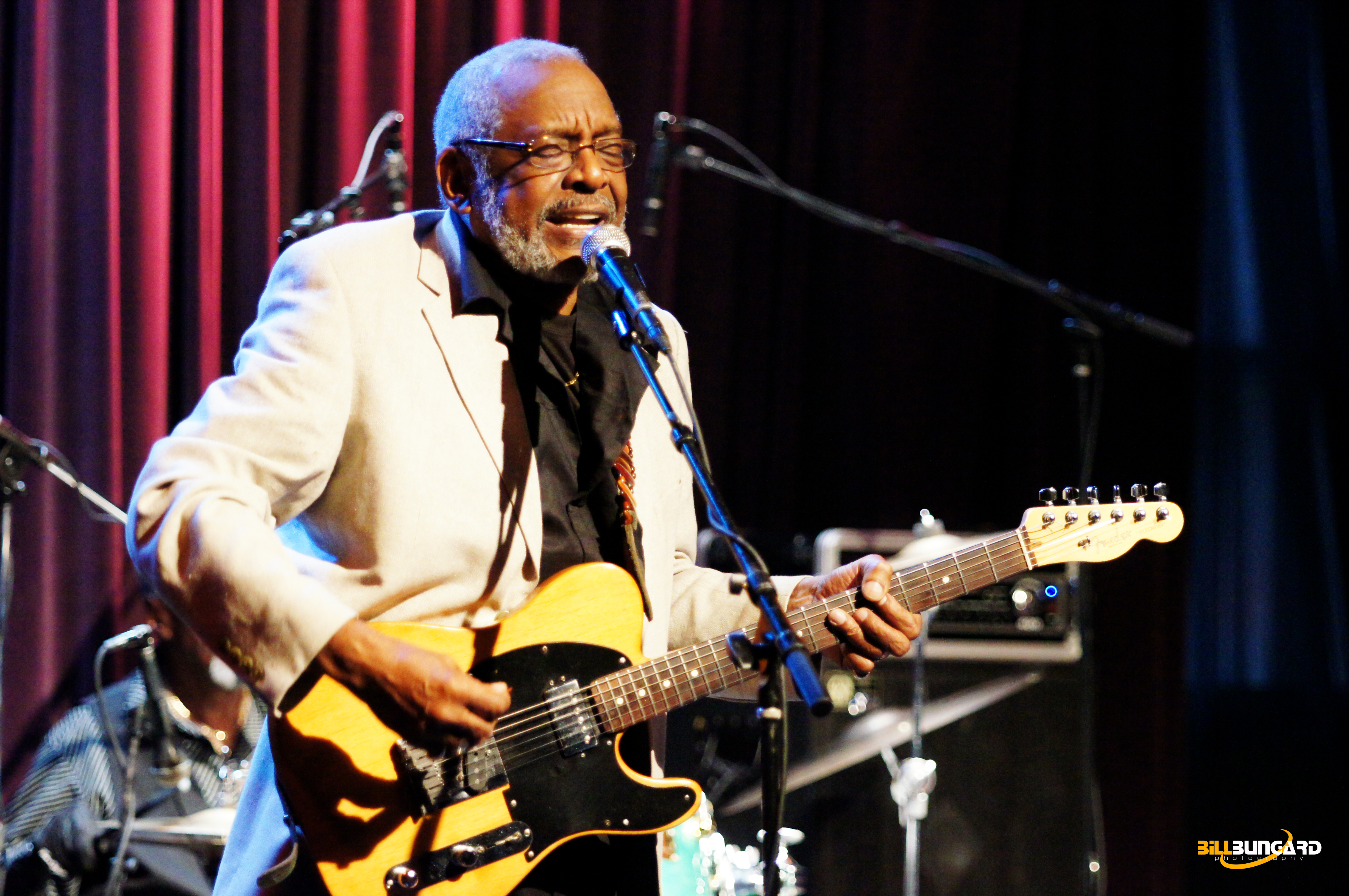 Wendell Holmes at Jazz Alley (Photo by Bill Bungard)