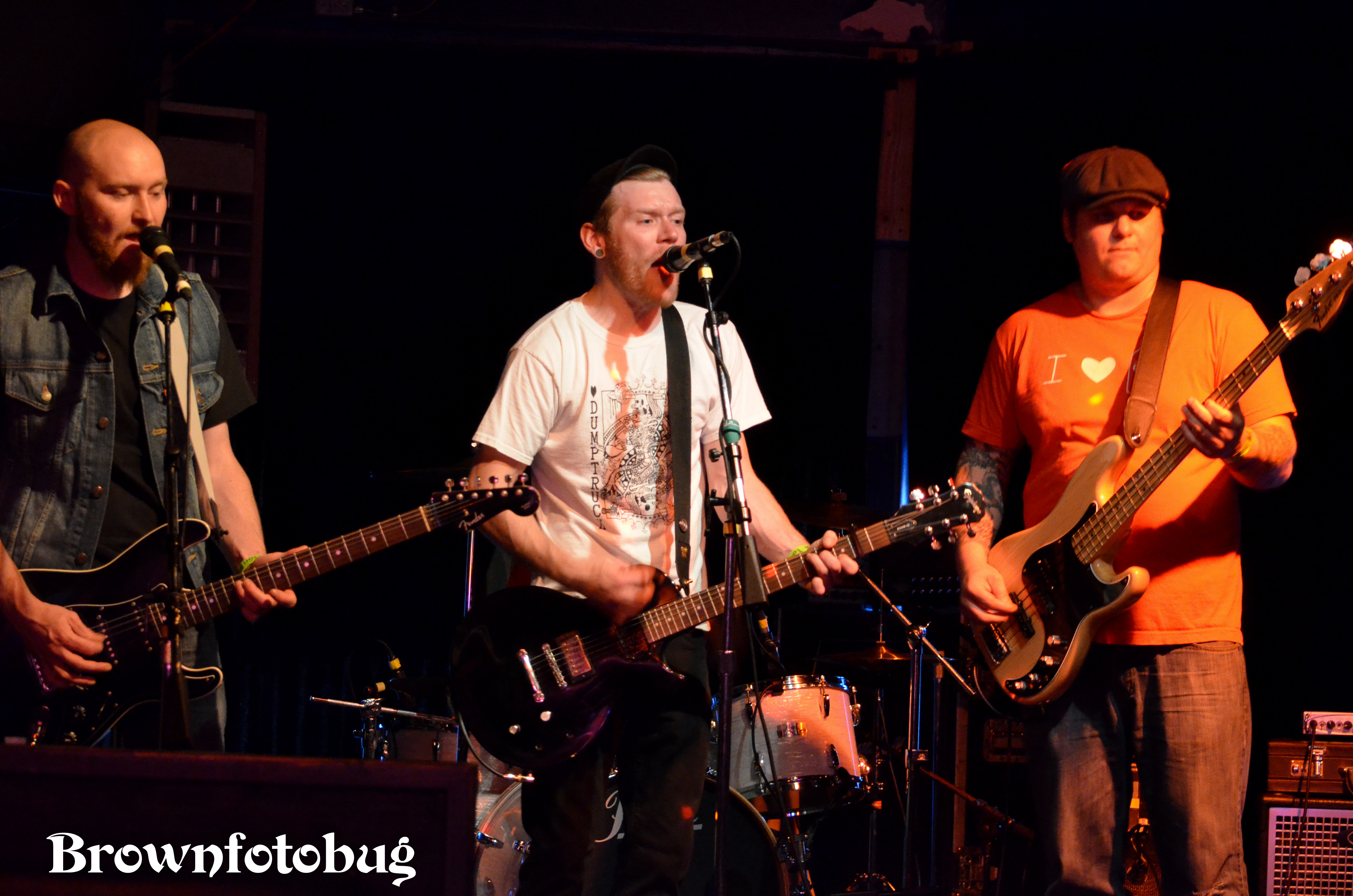 The Restless Sons Live at El Corazon (Photo by Arlene Brown)