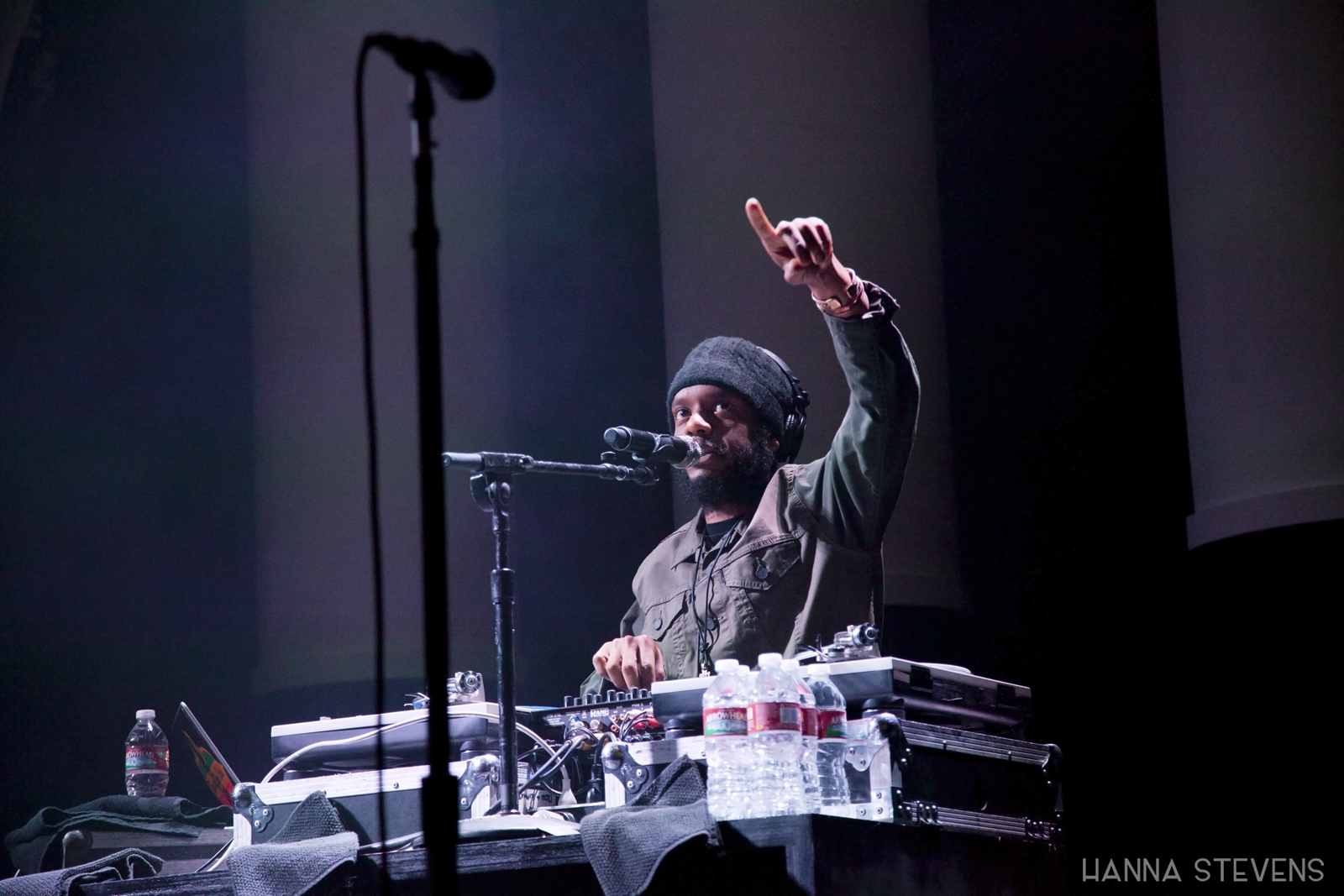 Lauryn Hill at The Paramount Theatre (Photo by Hanna Stevens)