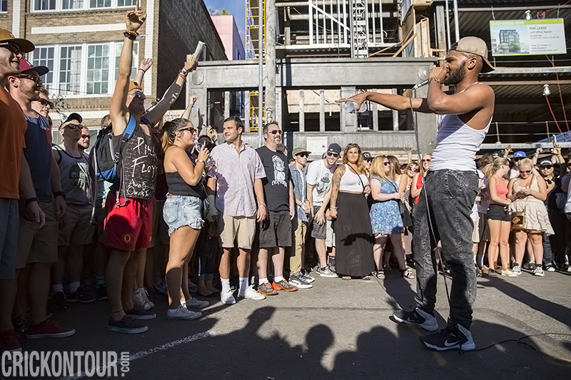 Raz Simone @ The Capitol Hill Block Party (Photo by Alex Crick)