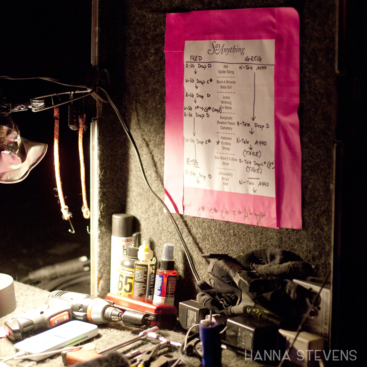 Say Anything at the Showbox Market (Photo by Hanna Stevens)