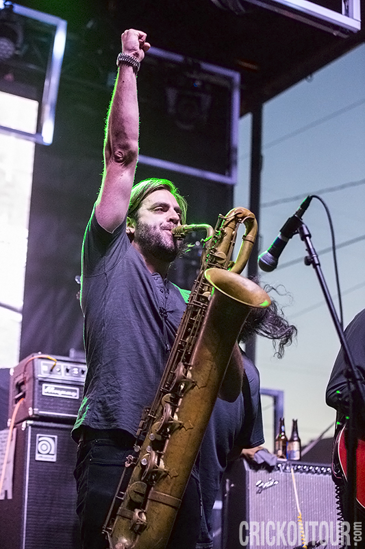 The Budos Band @ The Capitol Hill Block Party (Photo by Alex Crick)